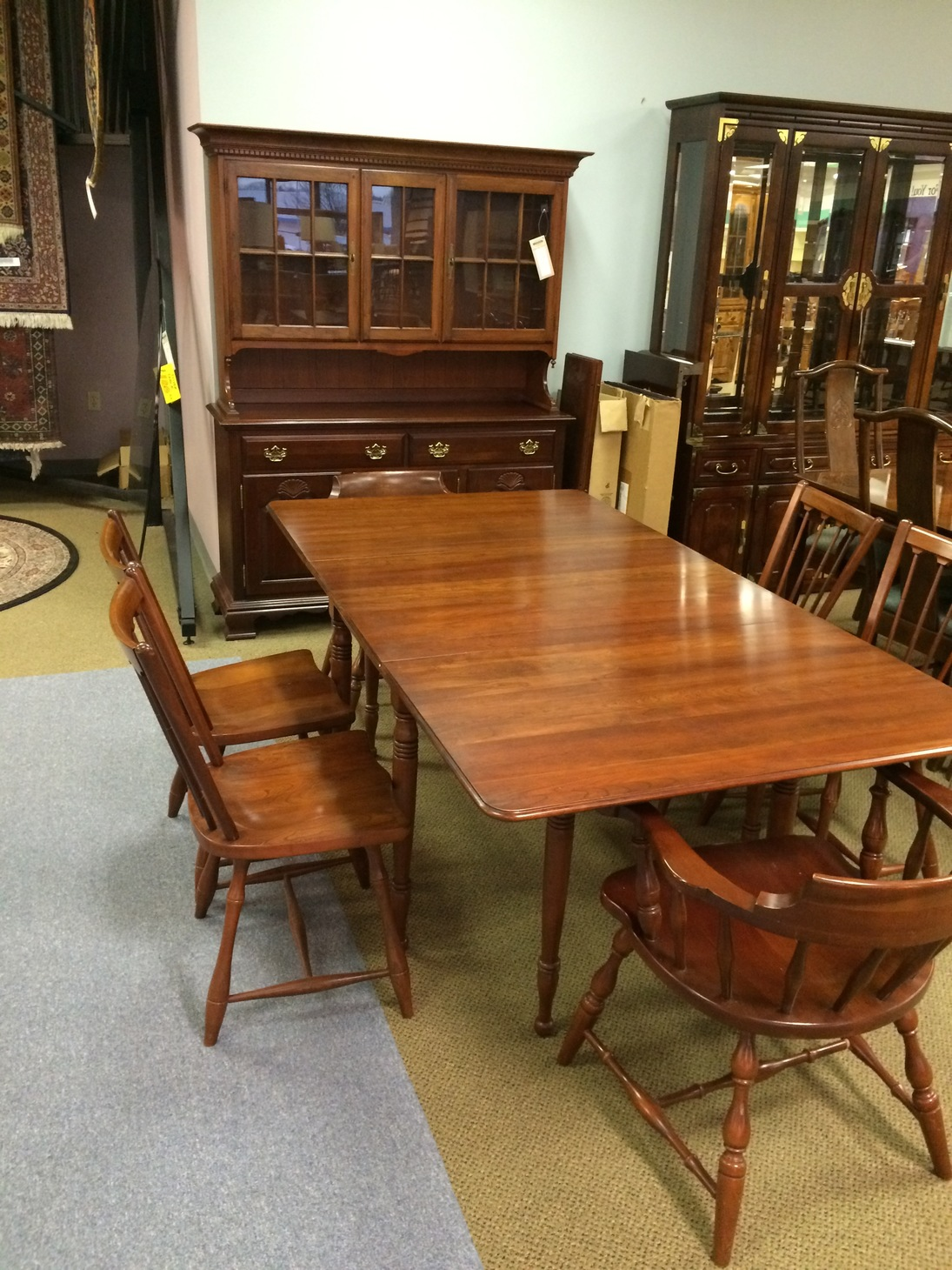 Pennsylvania house dining set allegheny furniture