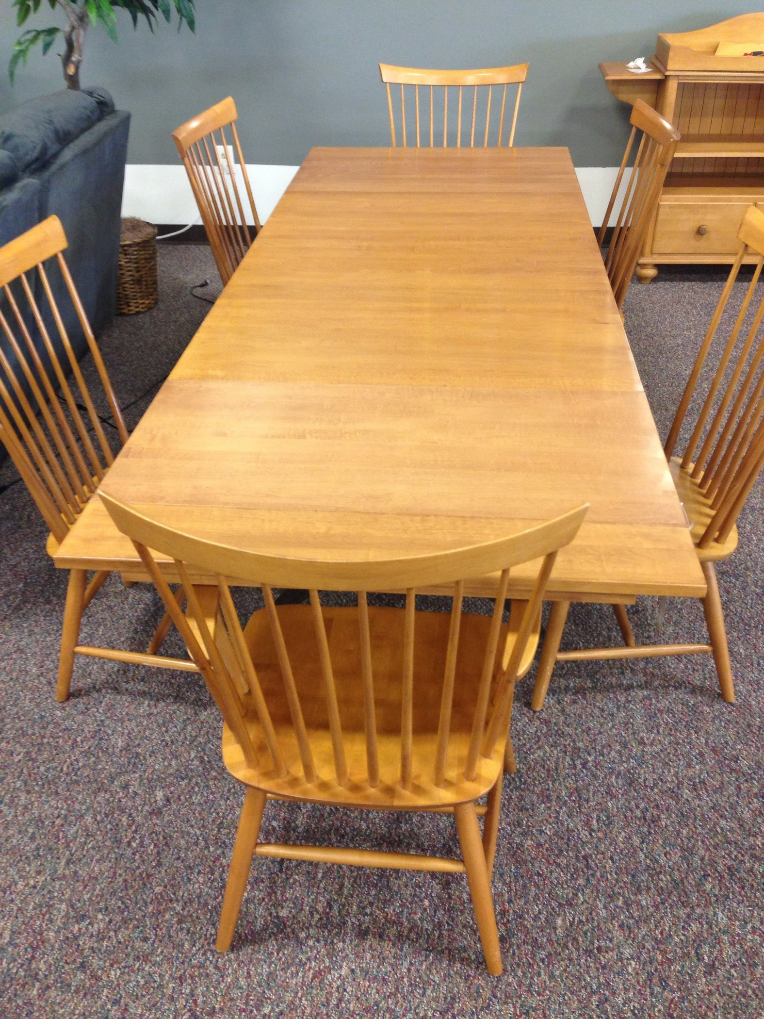 Ethan allen trestle kitchen table allegheny furniture consignment - Ethan allen kitchen tables ...
