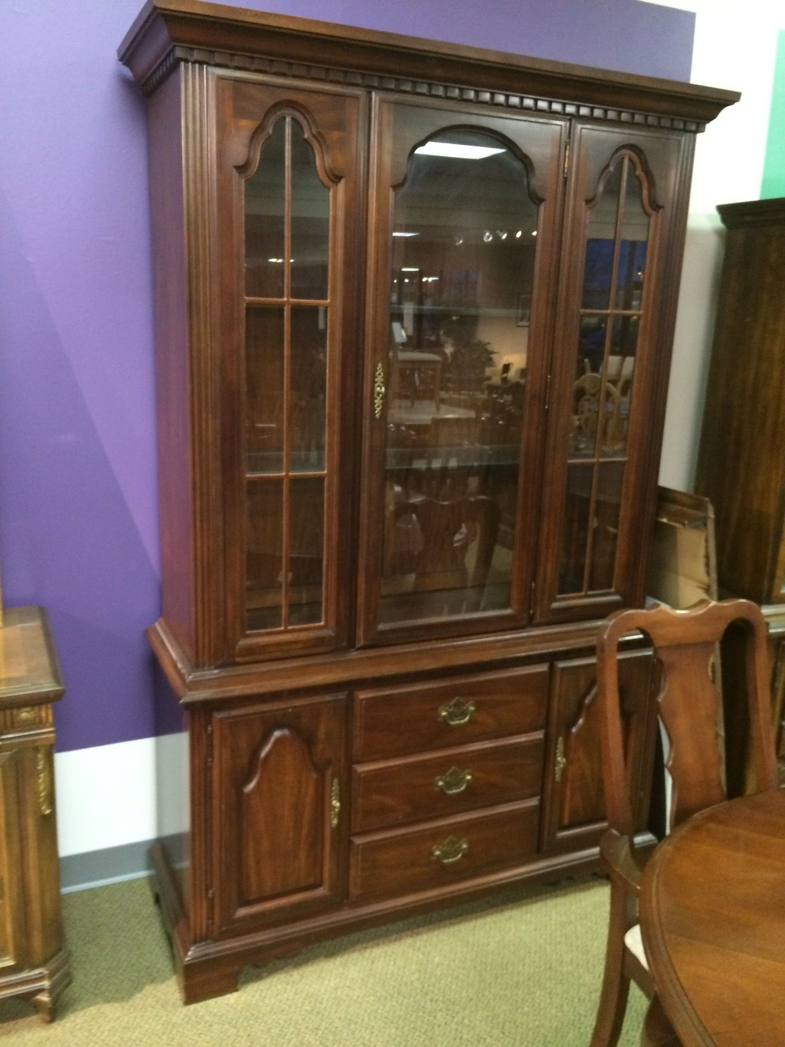 Broyhill dining room allegheny furniture consignment for Broyhill dining room furniture