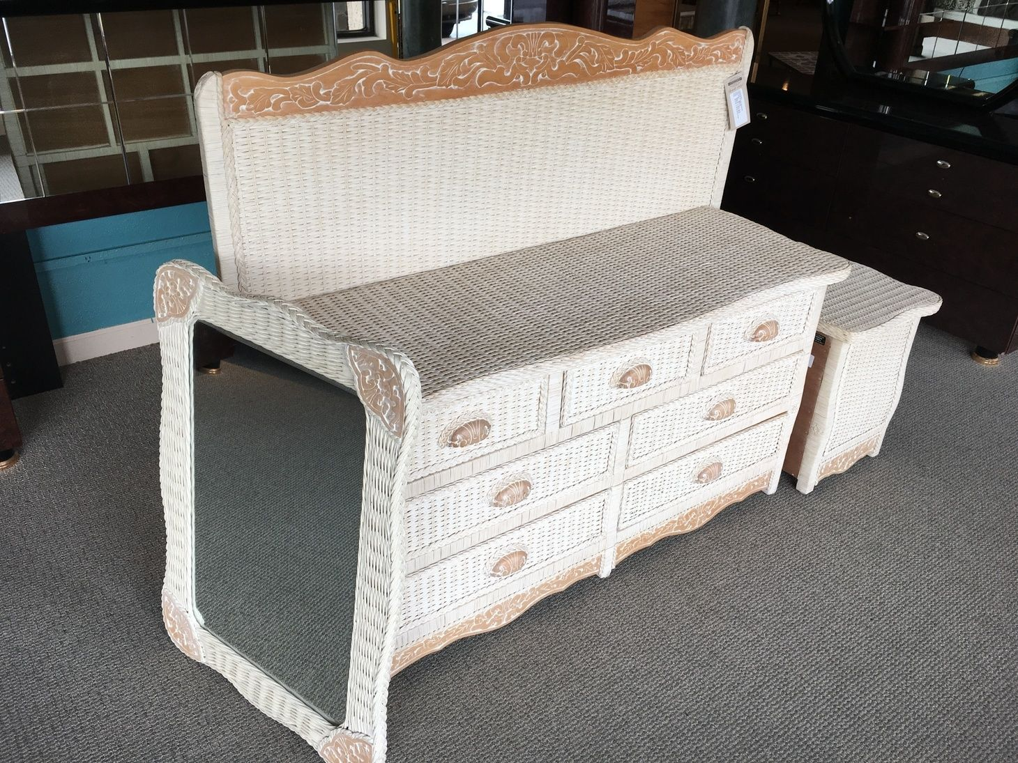 Pier One Wicker Bedroom Allegheny Furniture Consignment