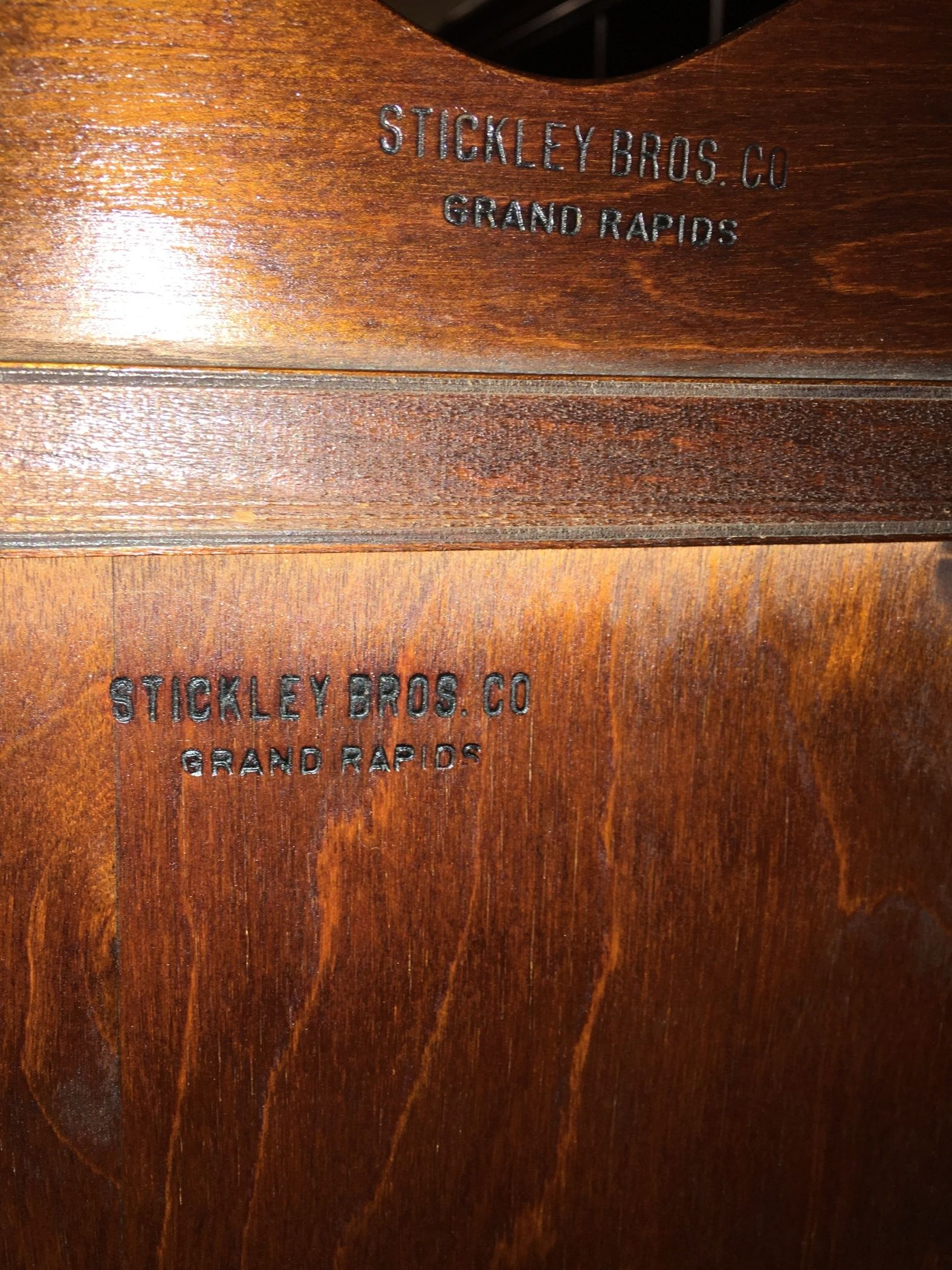 1930s Stickley Brothers Chest Allegheny Furniture