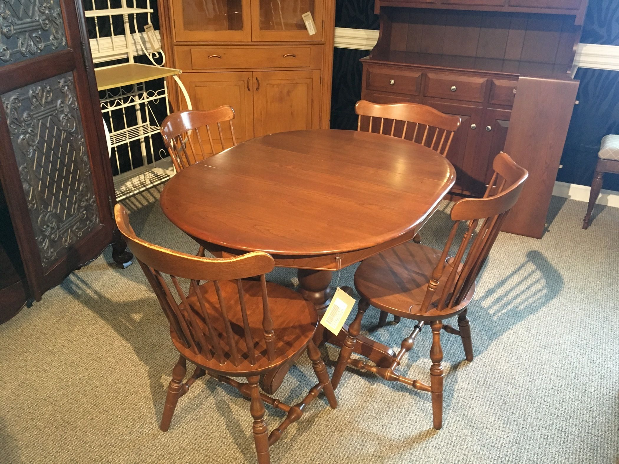 S bent brothers dinette allegheny furniture consignment for S bent dining room furniture