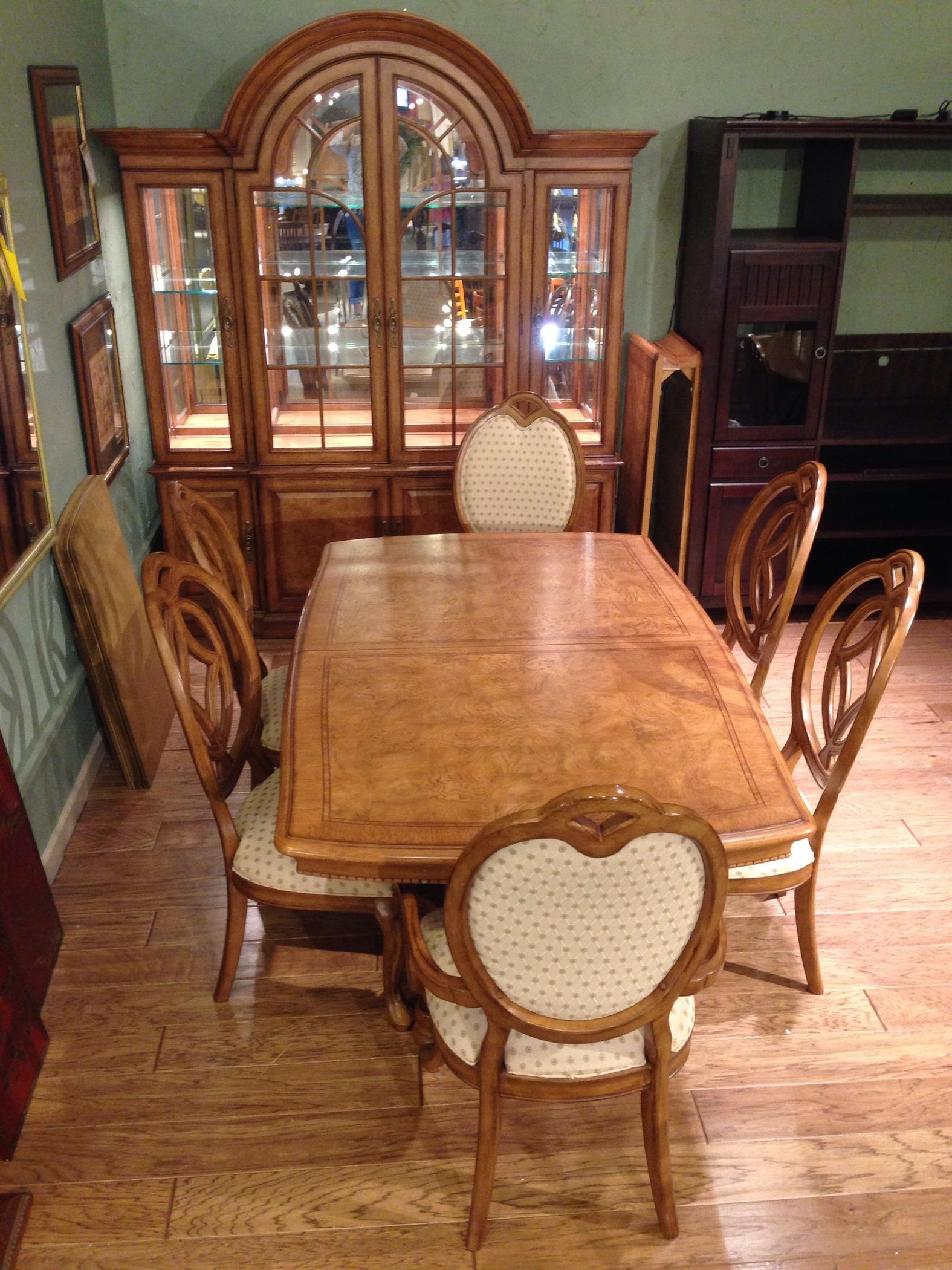 villa soleil dining room allegheny furniture consignment medium image