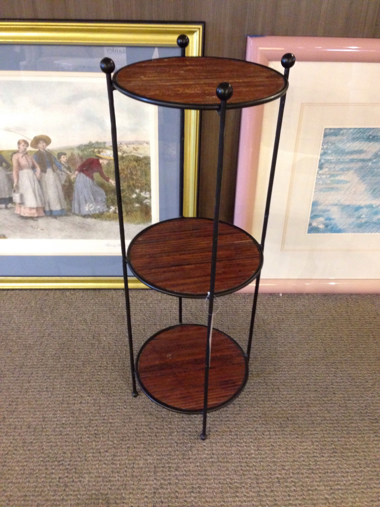 petite etagere allegheny furniture consignment. Black Bedroom Furniture Sets. Home Design Ideas