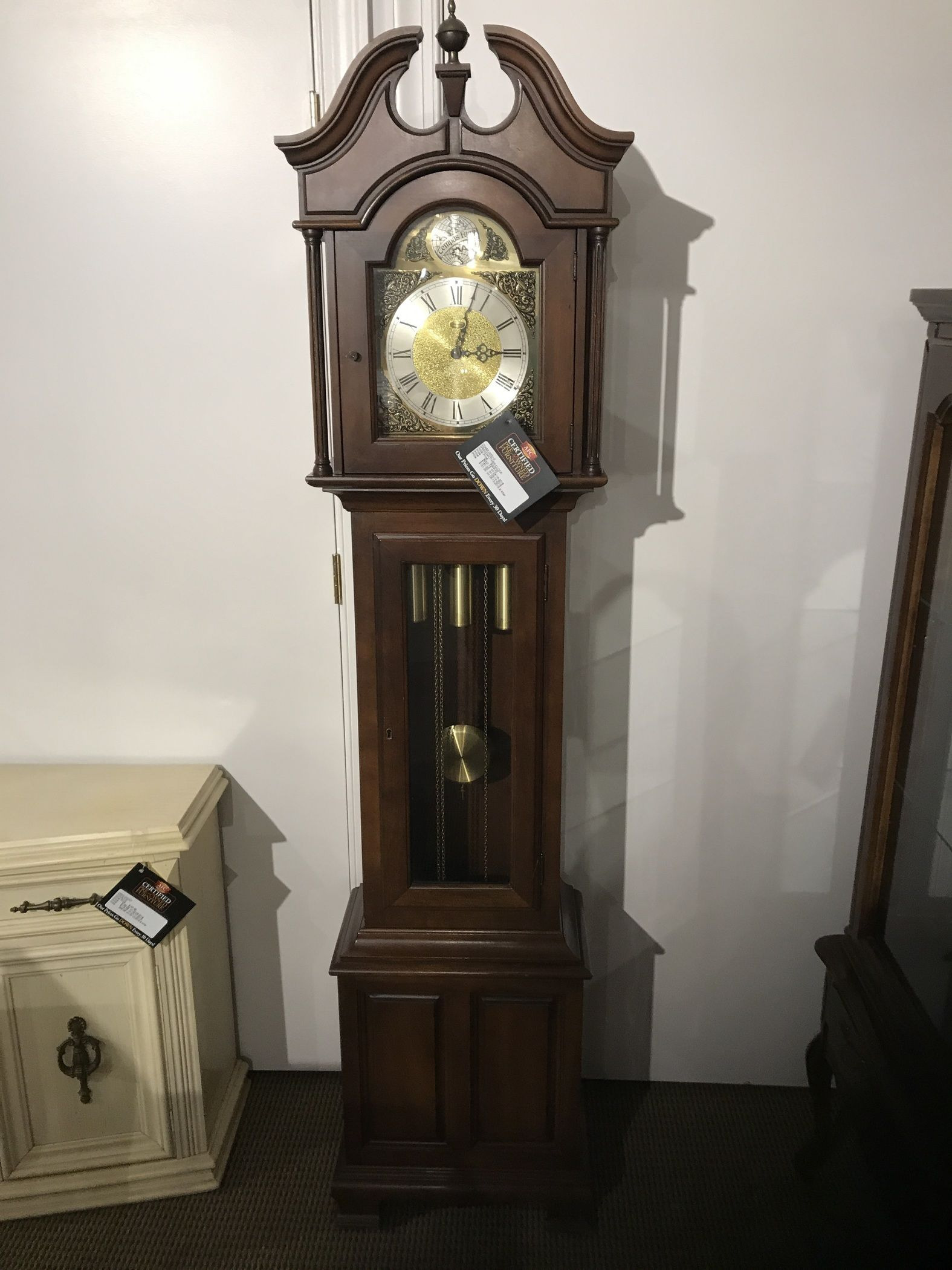Grandmother Clock Allegheny Furniture Consignment