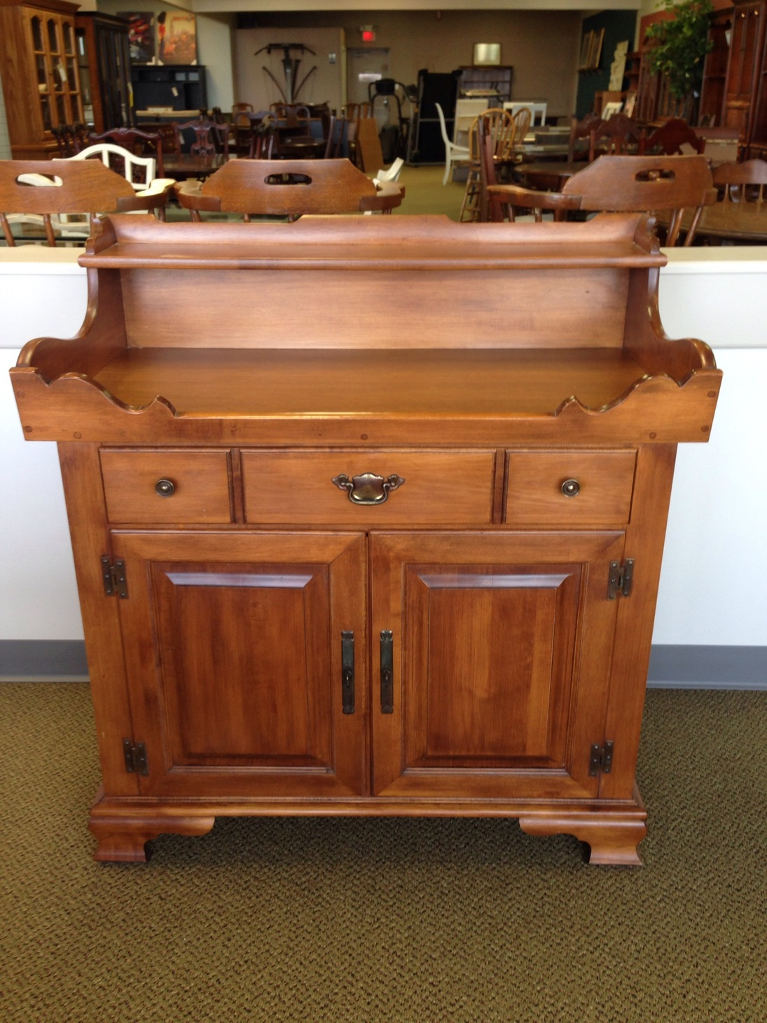 TELL CITY MAPLE DRY SINK Allegheny Furniture Consignment