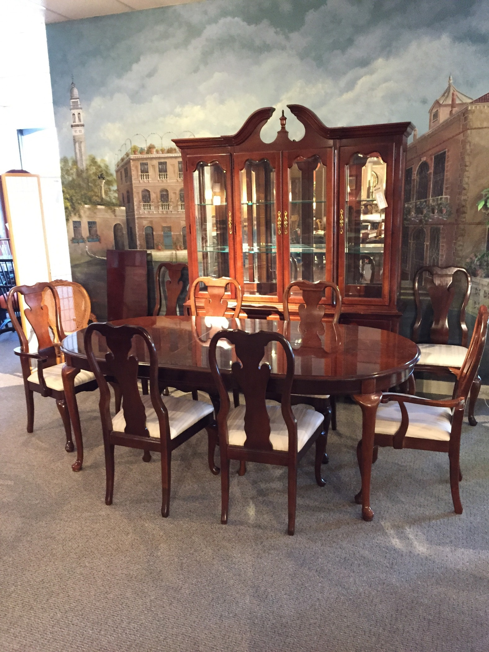 Thomasville dining room allegheny furniture consignment for Thomasville dining room