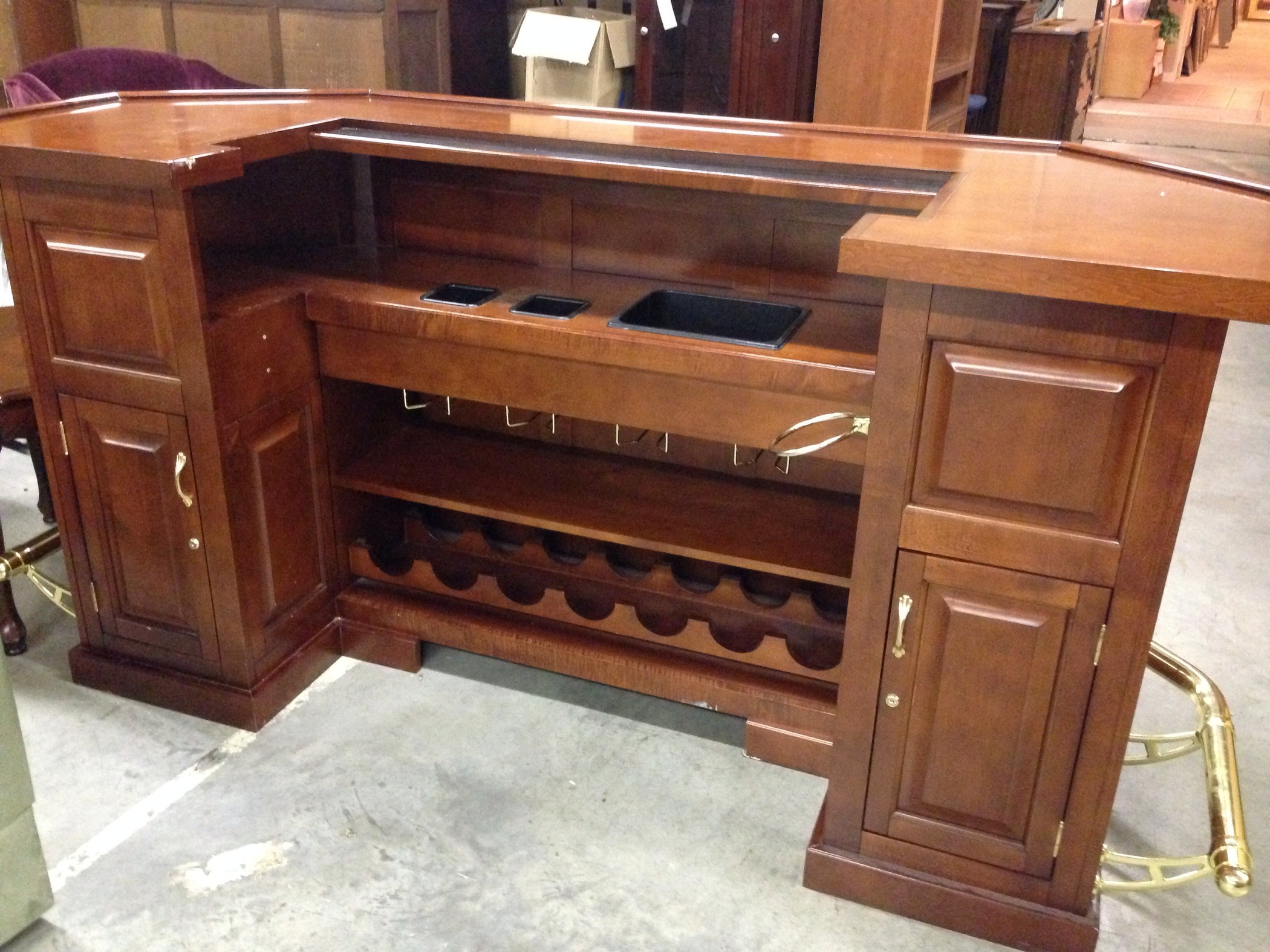 Allegheny Furniture Consignment Pecan Buffet Allegheny Furniture Consignment Pie Cabinet