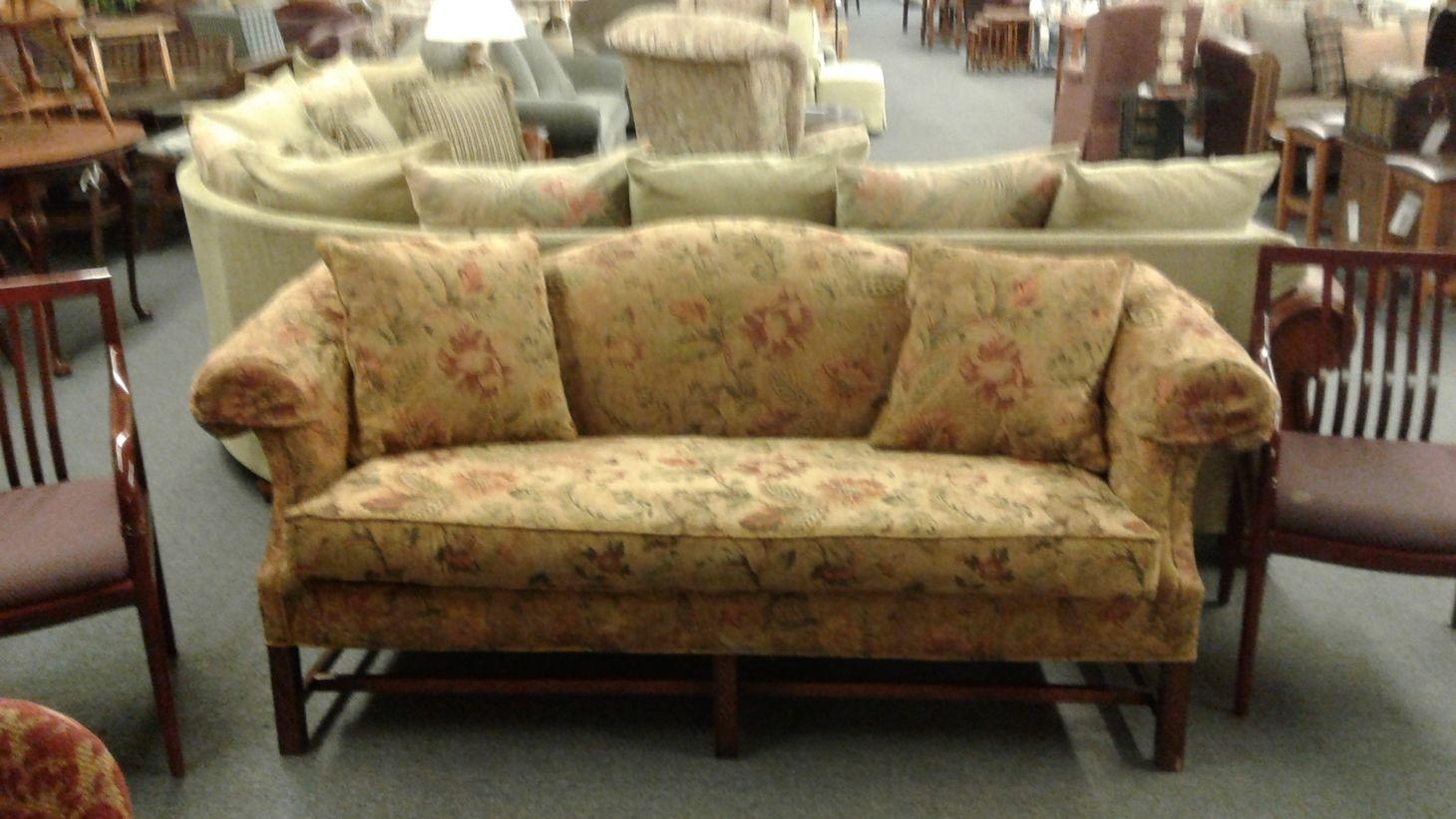 Camelback Floral Sofa Delmarva Furniture Consignment