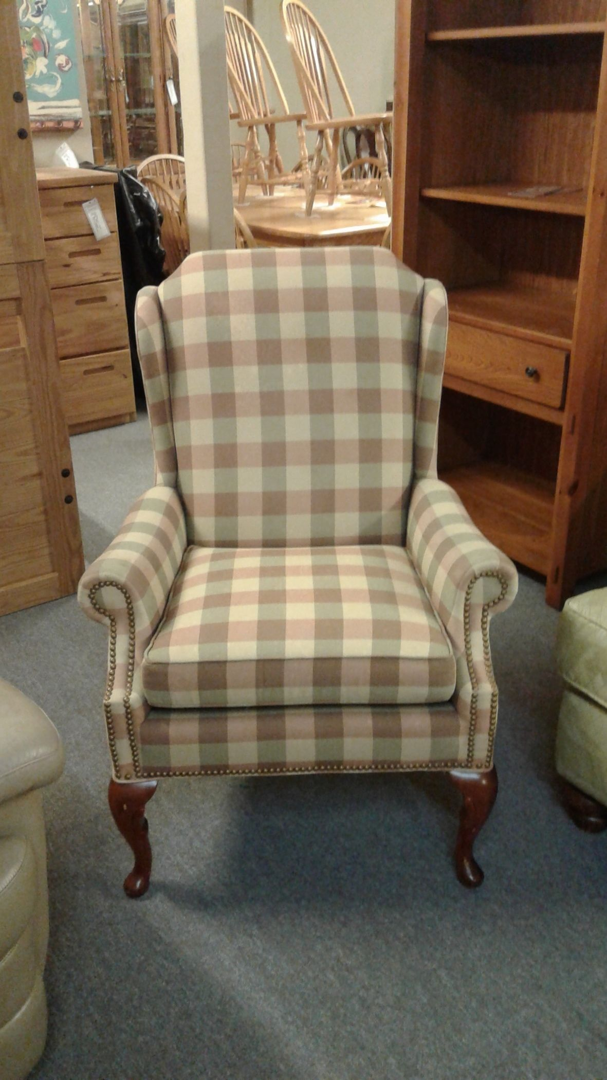 Hickory Wingback Chair Delmarva Furniture Consignment