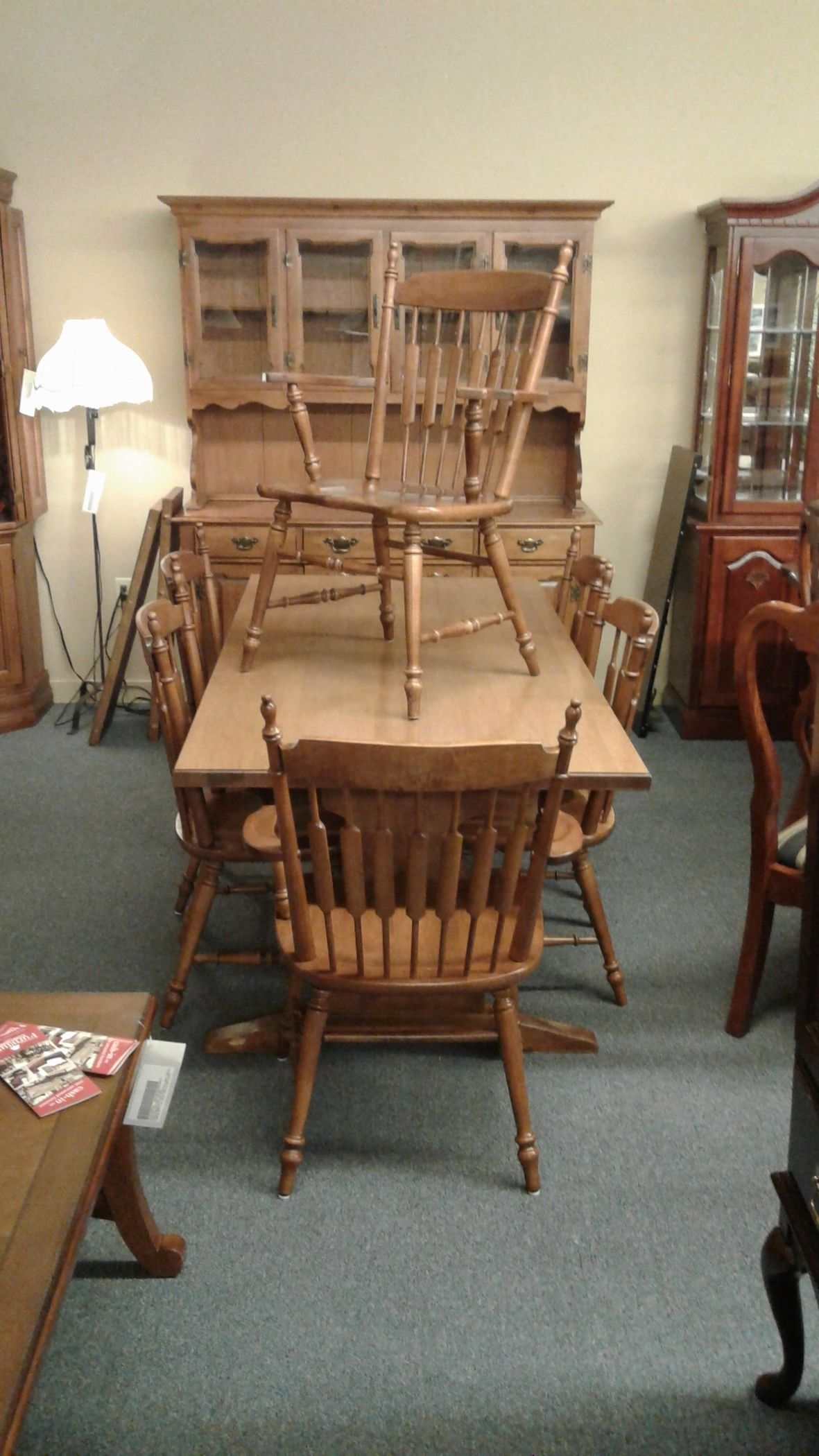 Tell City Maple Dining Set Delmarva Furniture Consignment