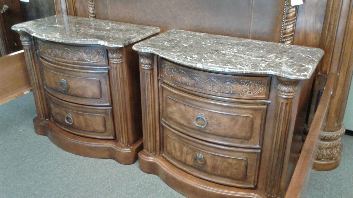 Collezione Bed Nightstands Delmarva Furniture Consignment