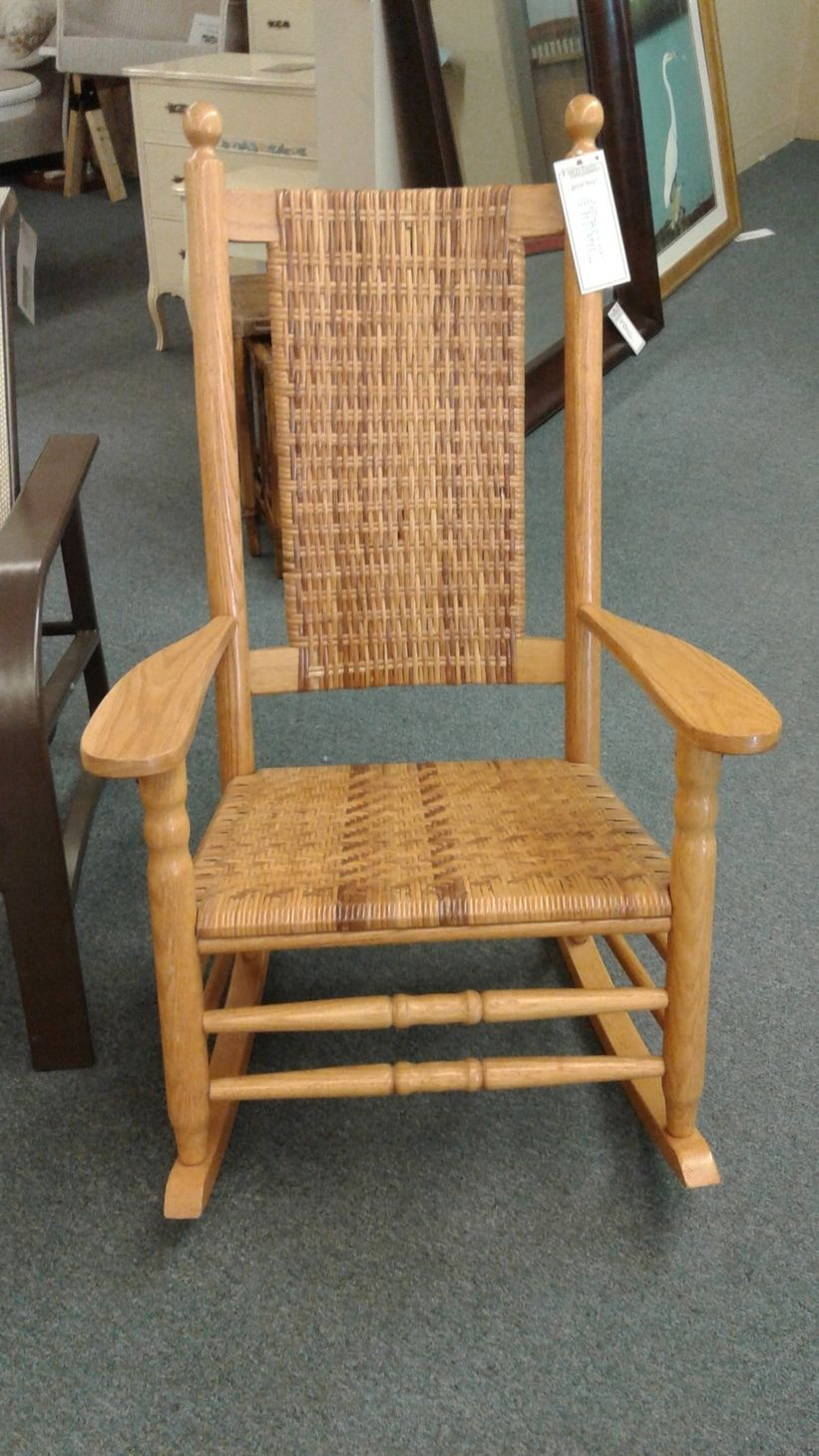 Antique Armless Rocker Wooden Rocking Chair » Ideas Home Design