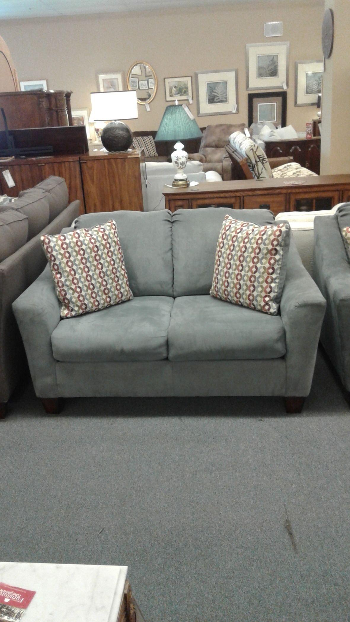 Ashley Gray Sofa Loveseat Delmarva Furniture Consignment