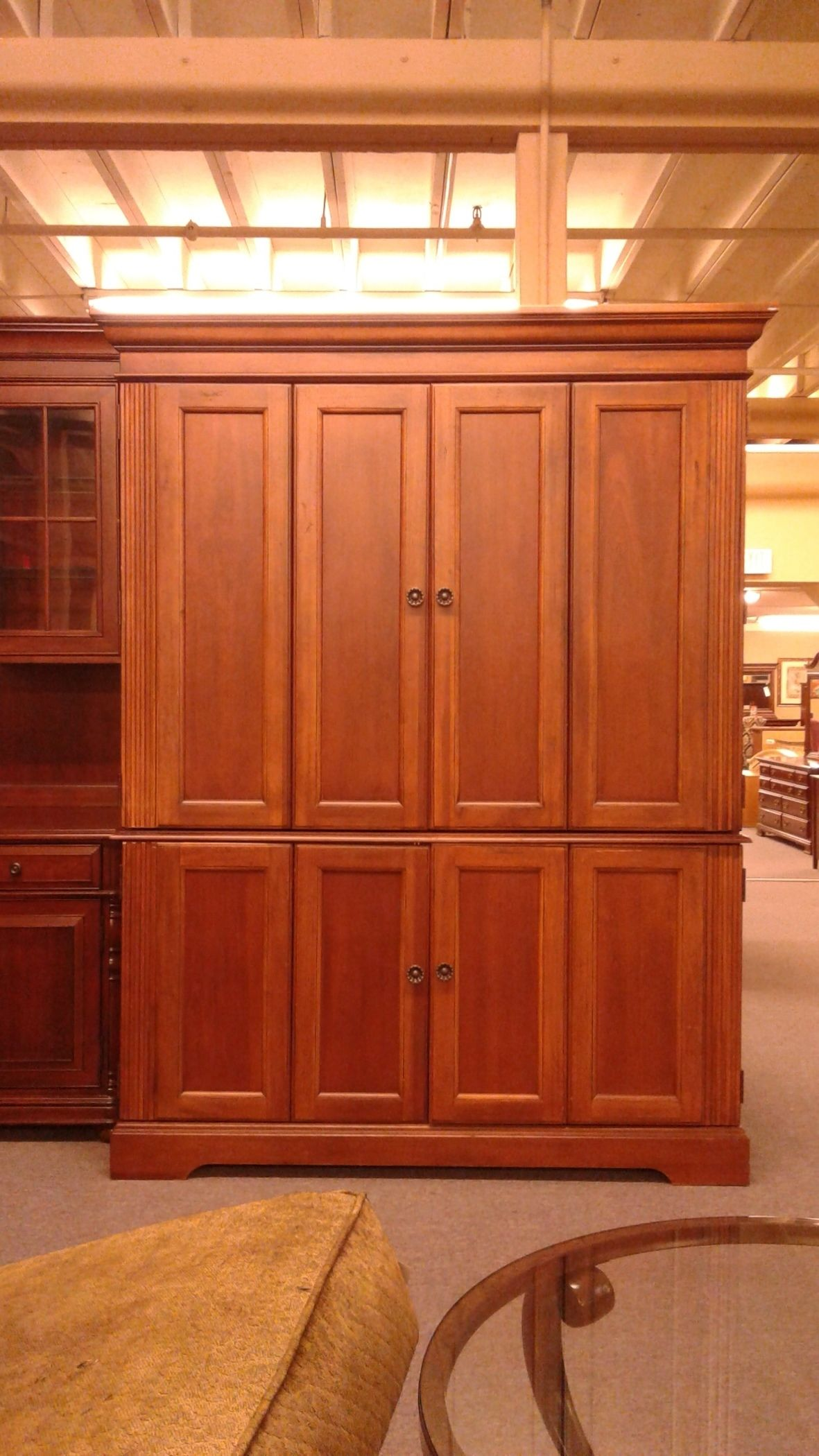 HOOKER COMPUTER ARMOIRE | Delmarva Furniture Consignment