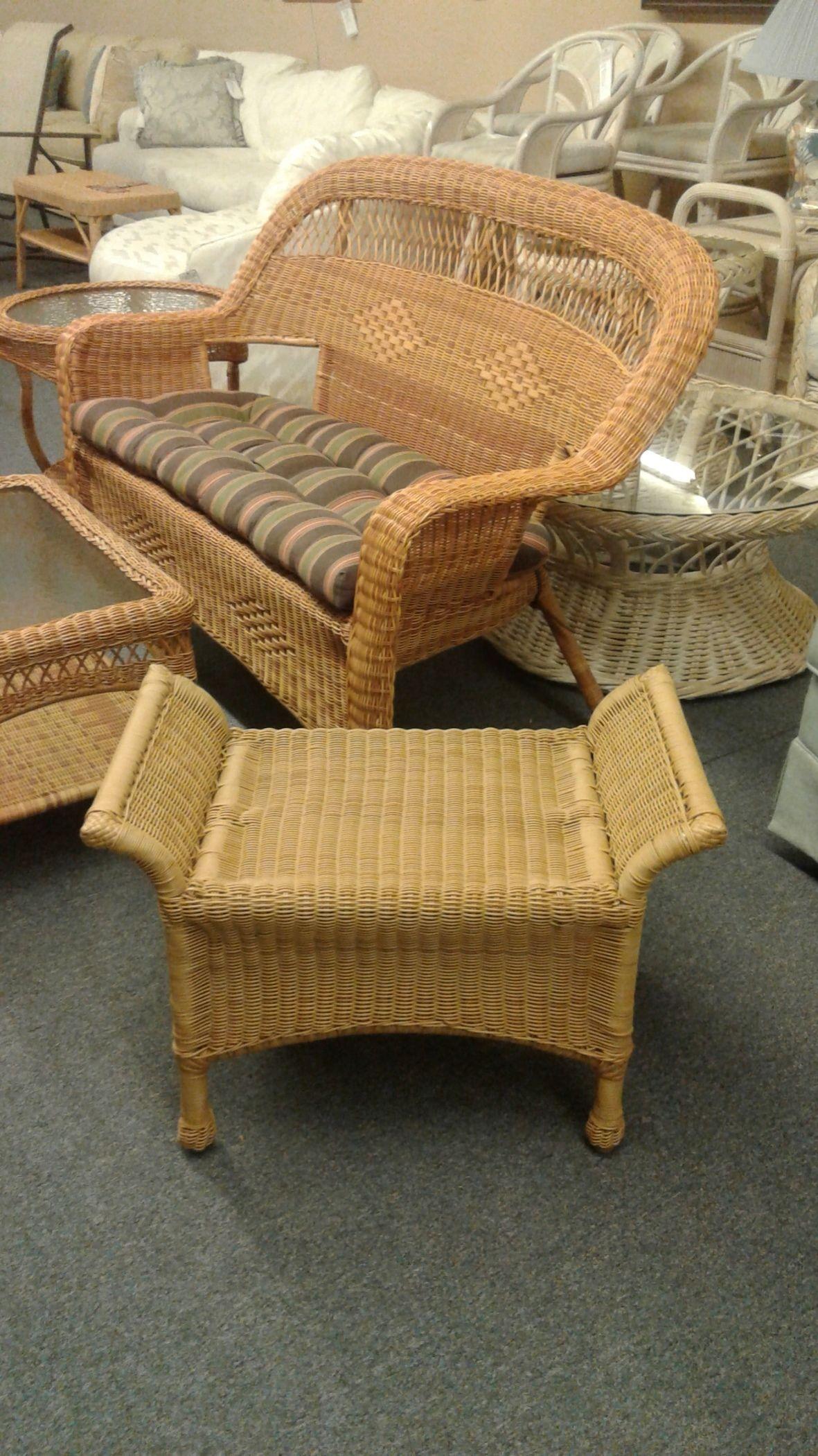 Small Outdoor Ottoman Delmarva Furniture Consignment