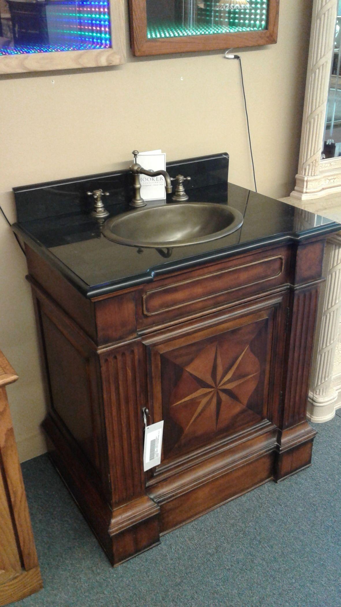 Hooker Vanity W Sink Faucet Delmarva Furniture Consignment