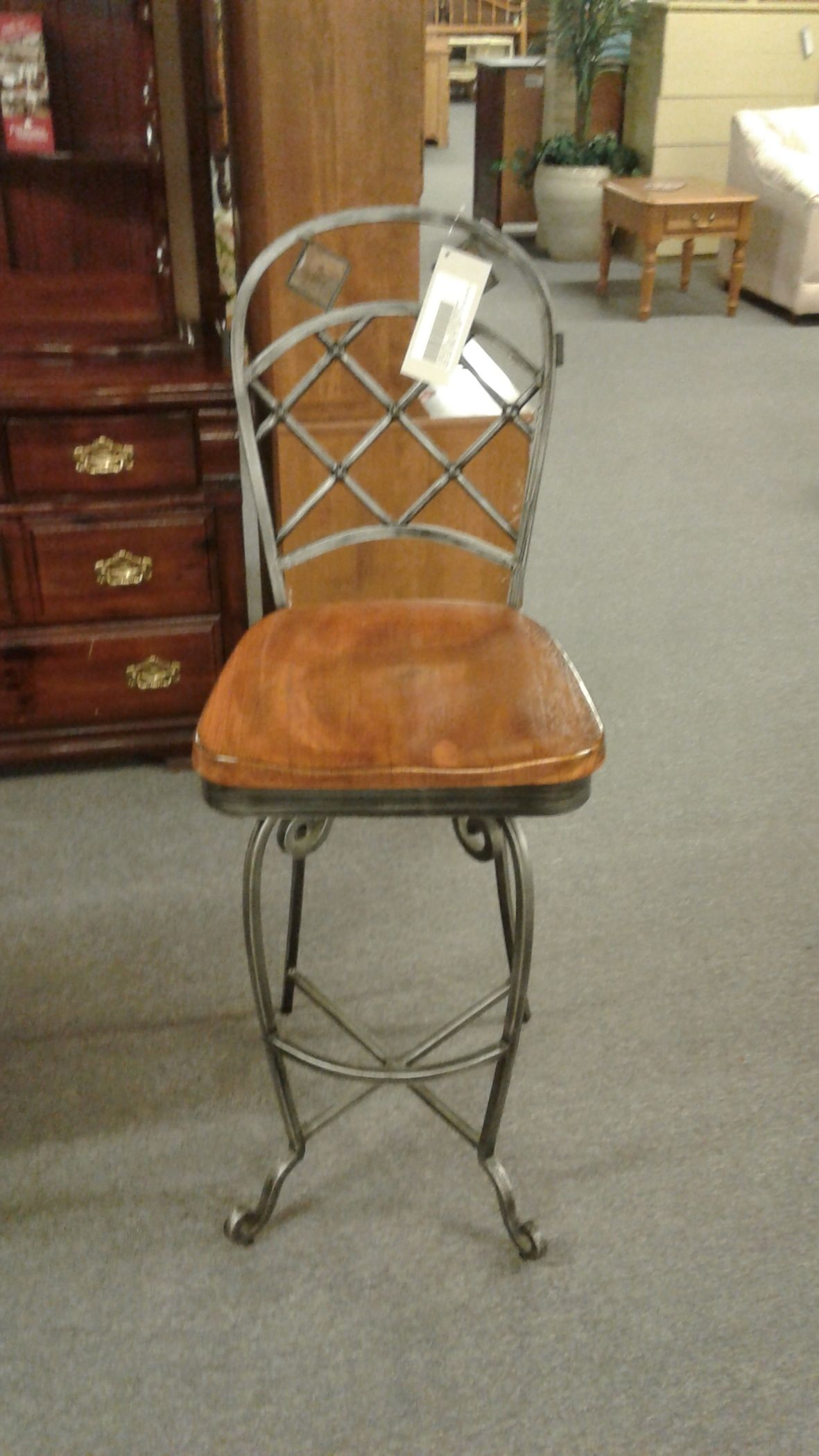 Wonderful image of RIVERSIDE IRON & WOOD STOOLS Delmarva Furniture Consignment with #996232 color and 1181x2100 pixels