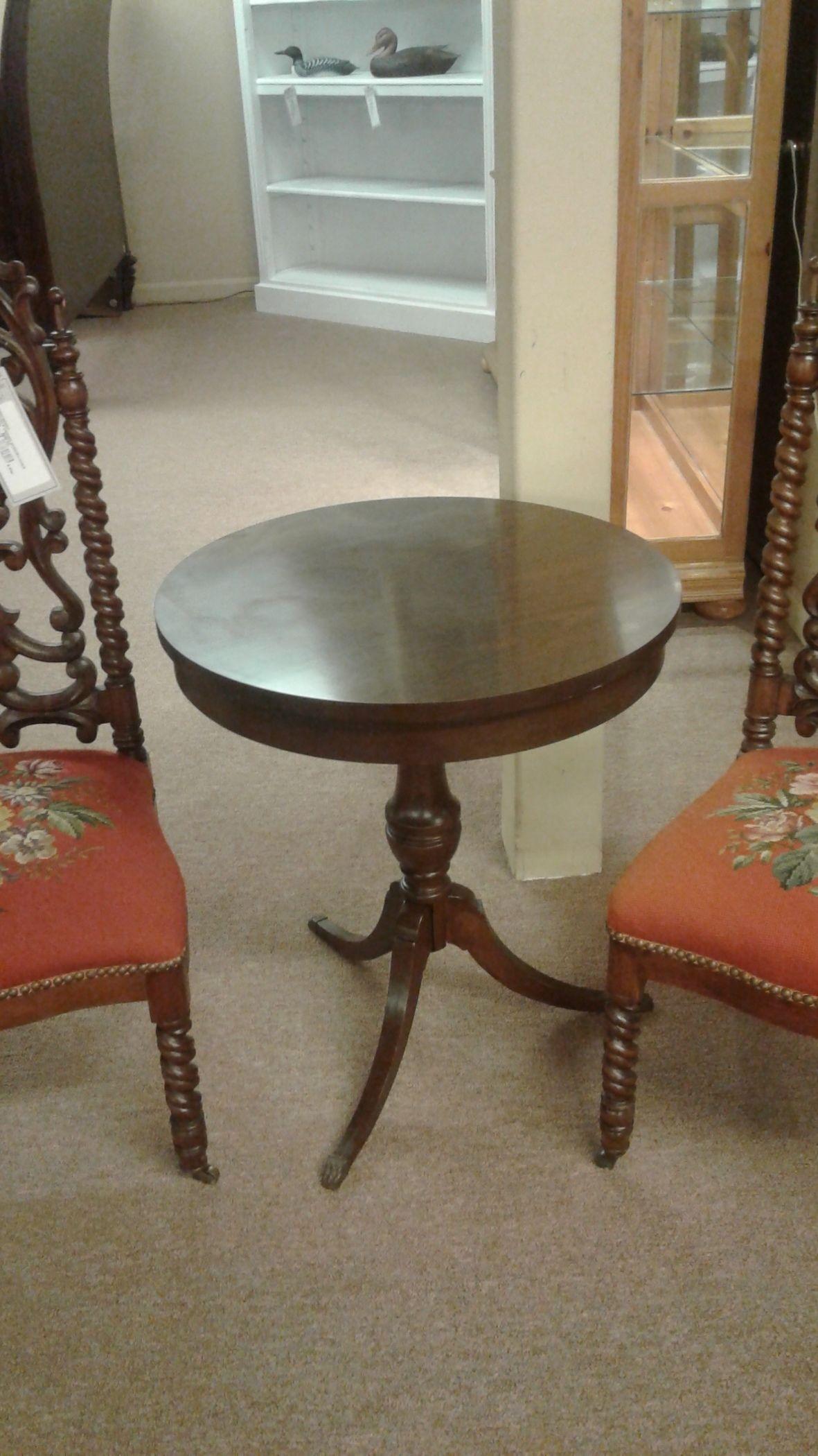 Duncan Phyfe Round Table Delmarva Furniture Consignment
