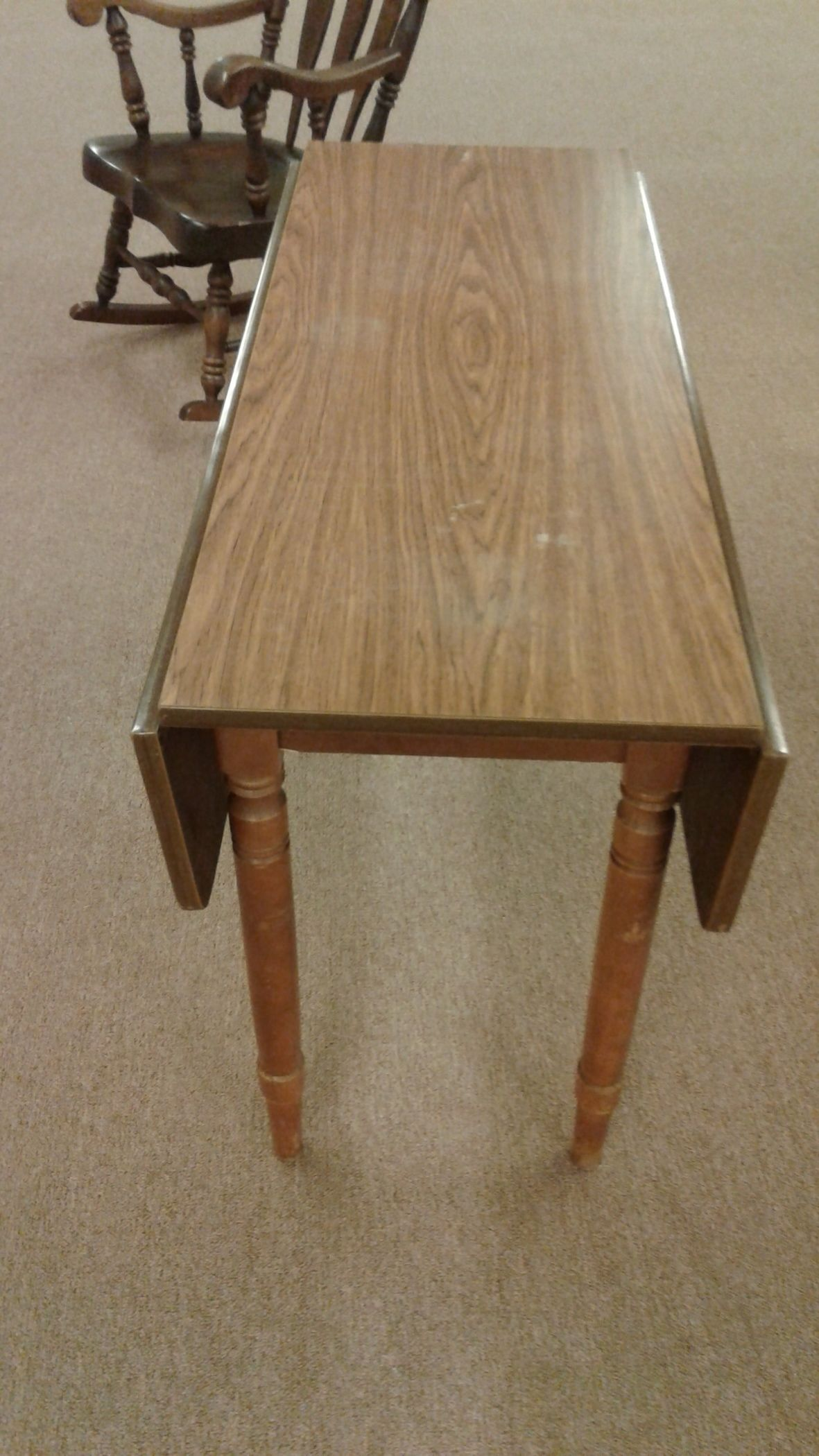 Narrow Drop Leaf Table Delmarva Furniture Consignment