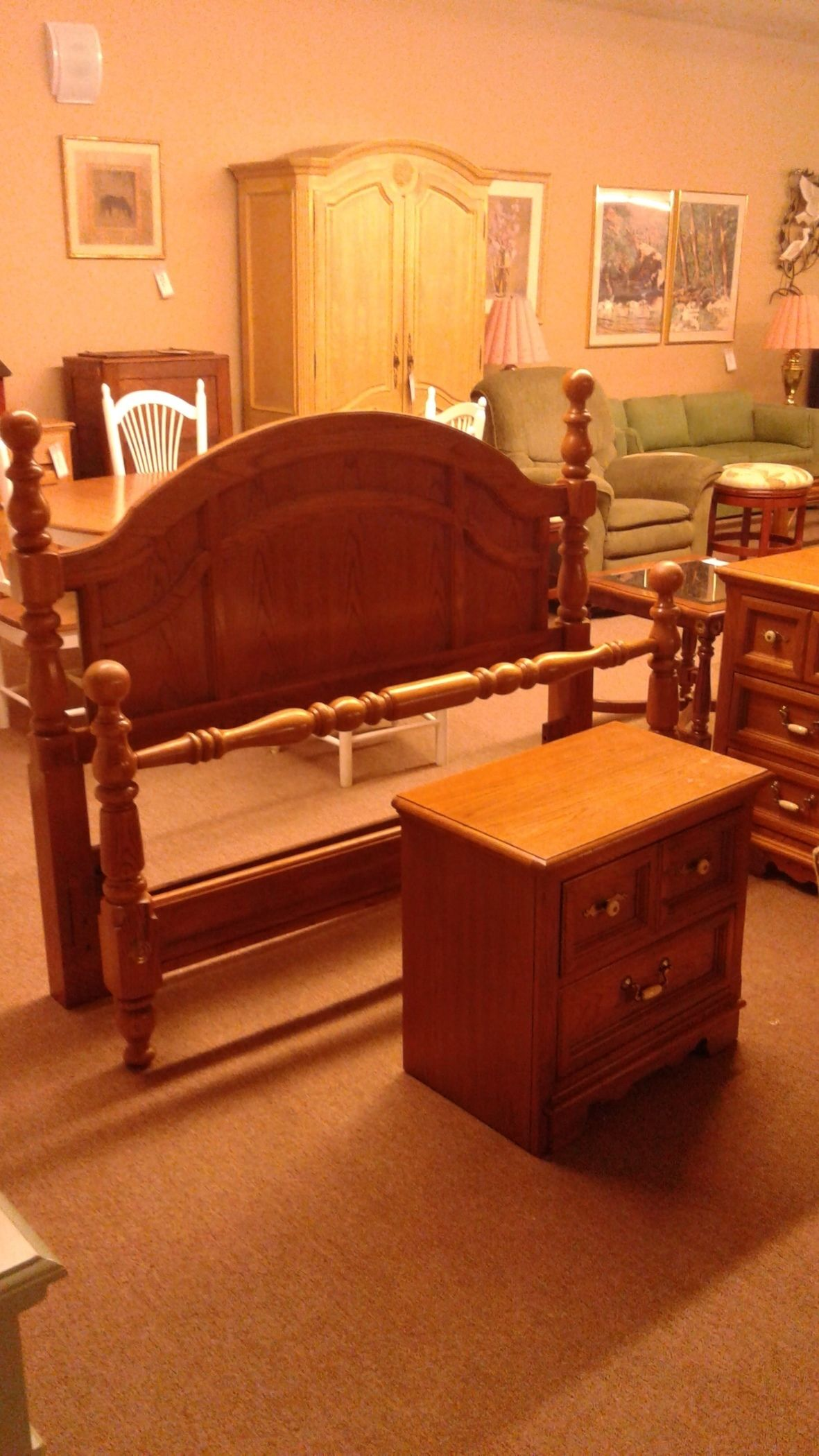 Thomasville Queen Bed Ntstd Delmarva Furniture Consignment