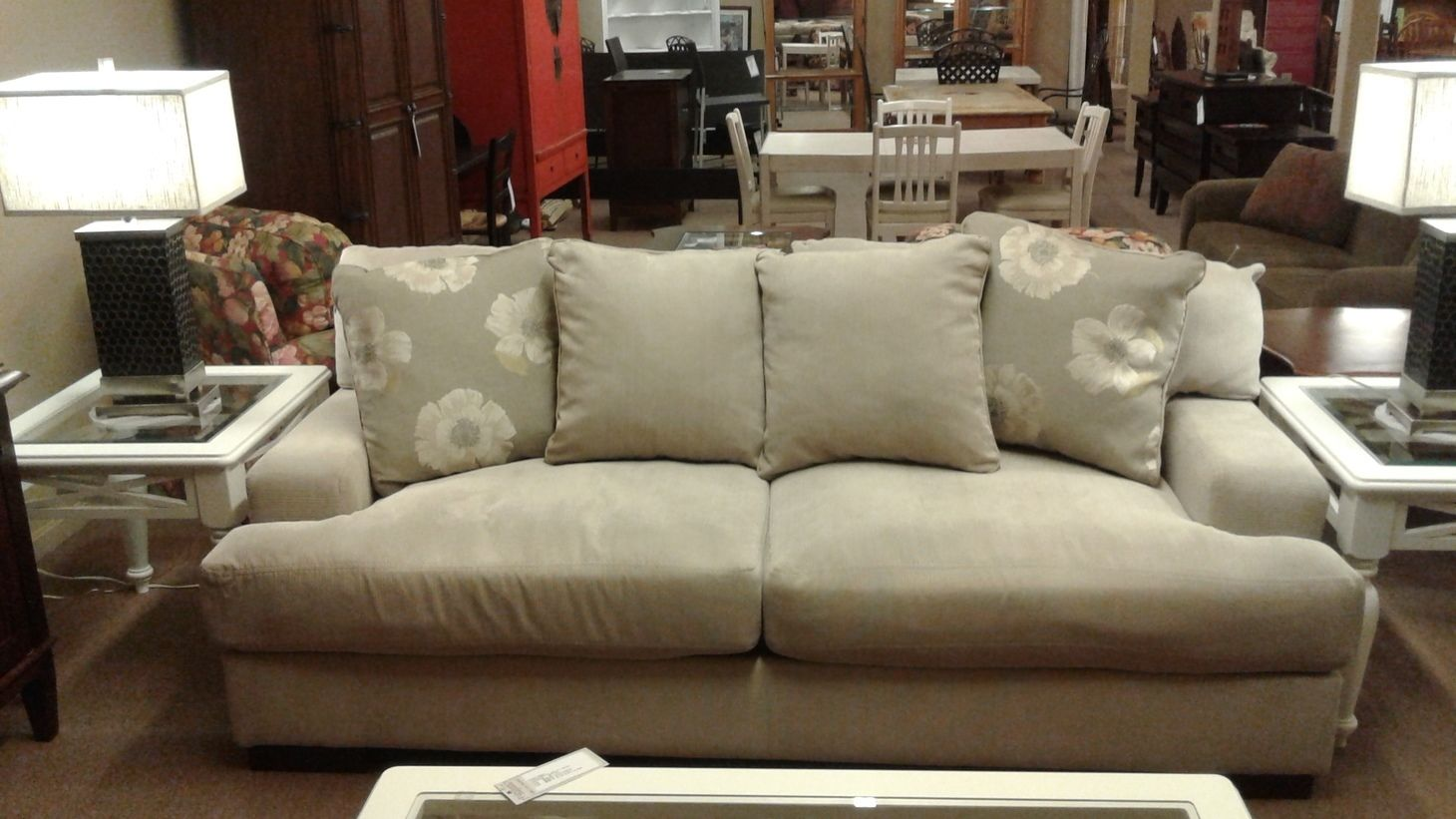 Ashley Gray Sofa Delmarva Furniture Consignment