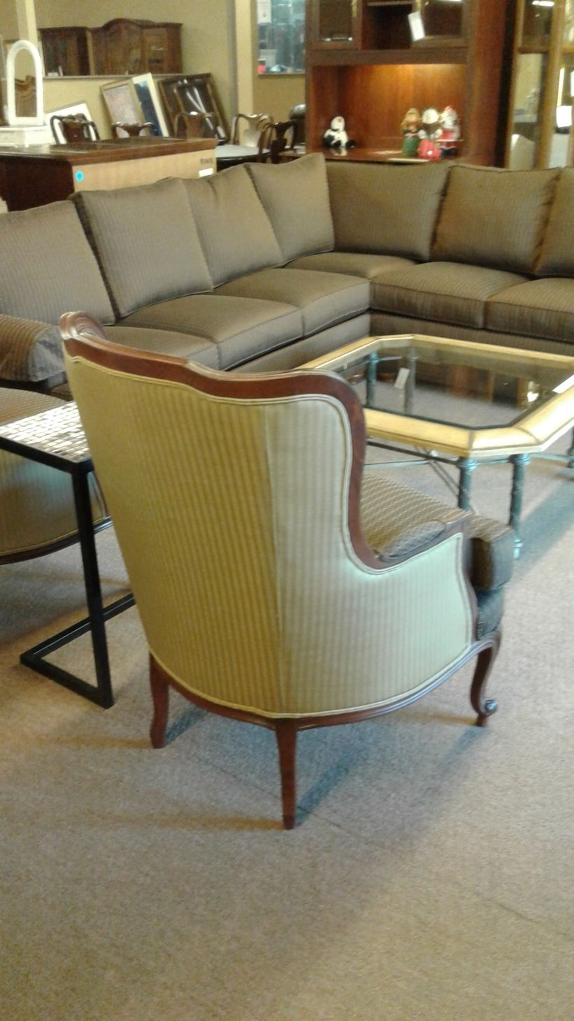 Ethan Allen Wing Back Chair Delmarva Furniture Consignment