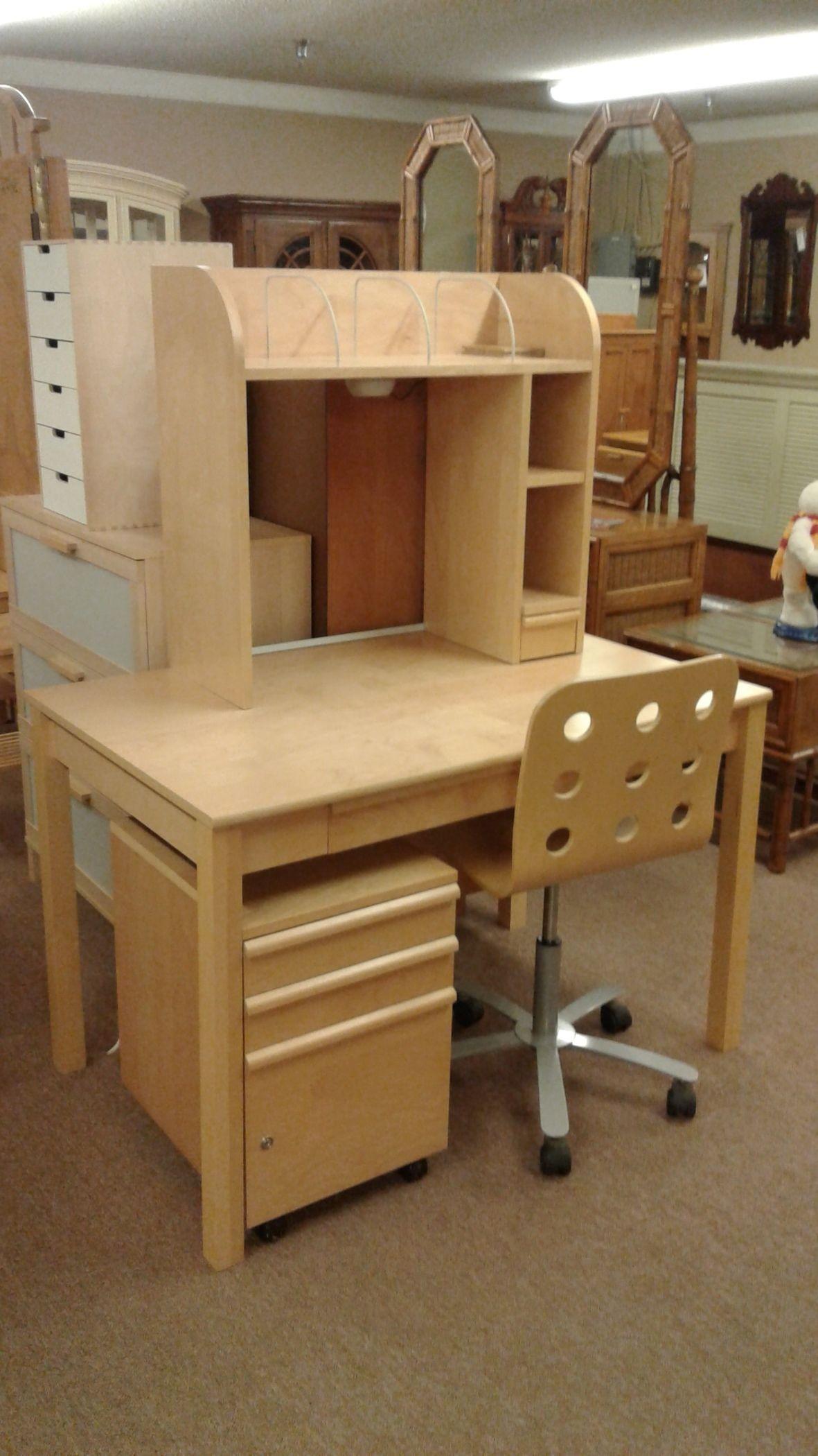 ikea desk plywood chair delmarva furniture consignment