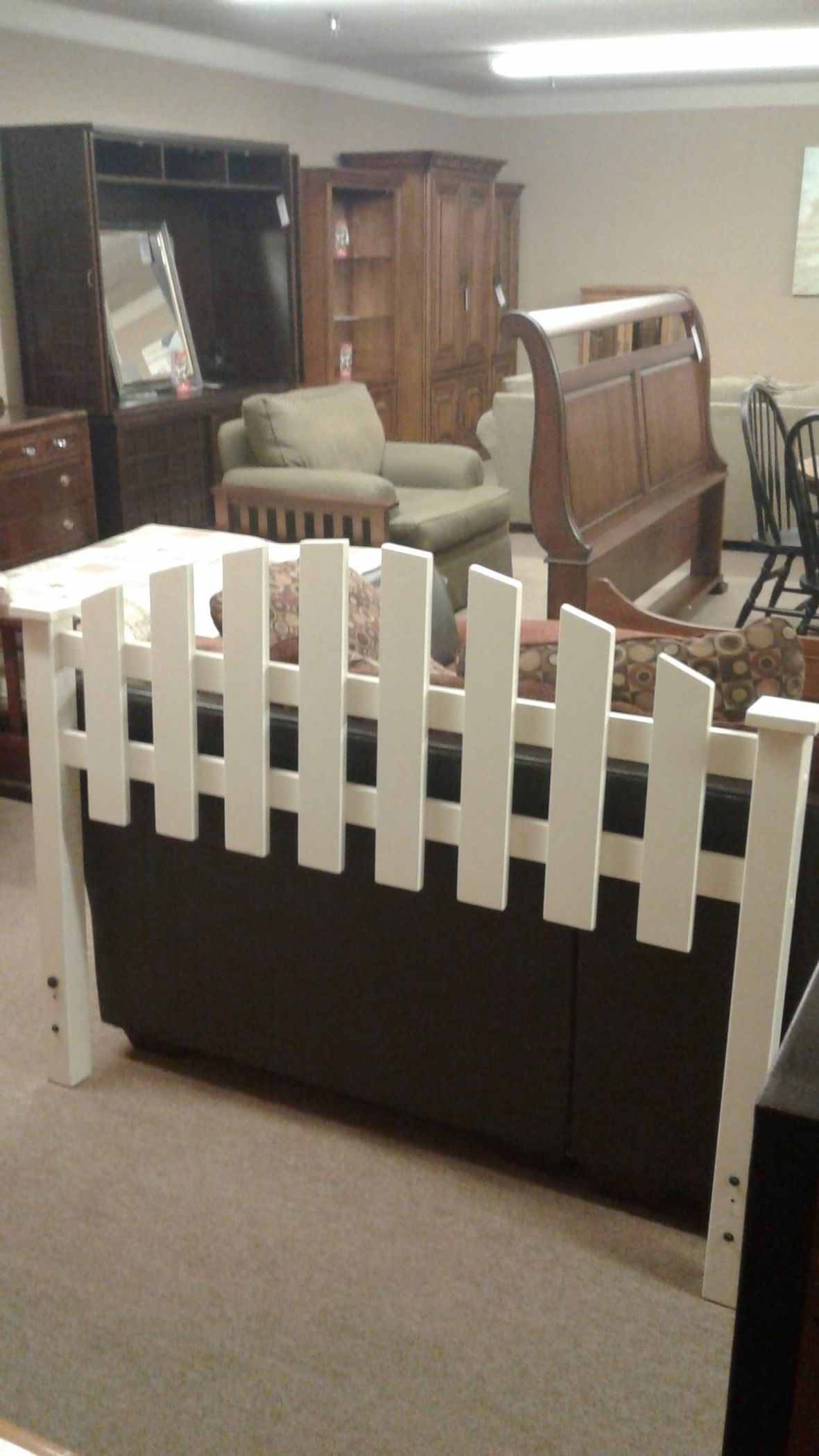 Picket Fence Full Bed W Frame Delmarva Furniture Consignment