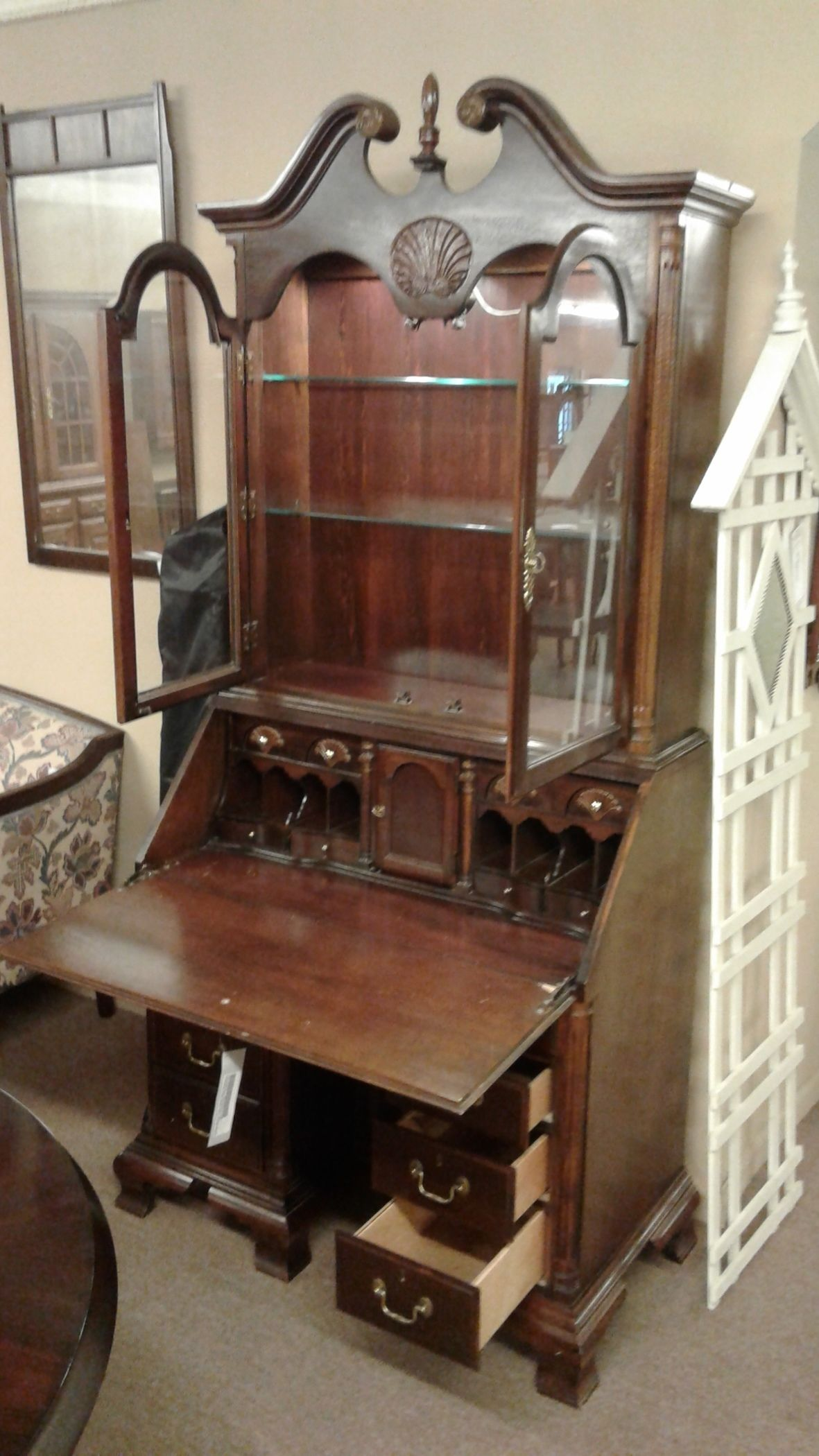 American Drew Secretary Desk Delmarva Furniture Consignment