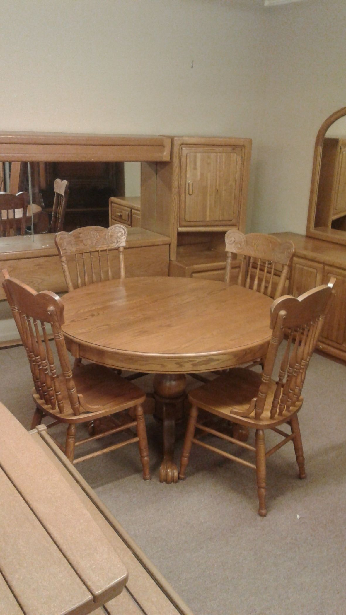 Keller Dining Table Amp 4 Chairs Delmarva Furniture