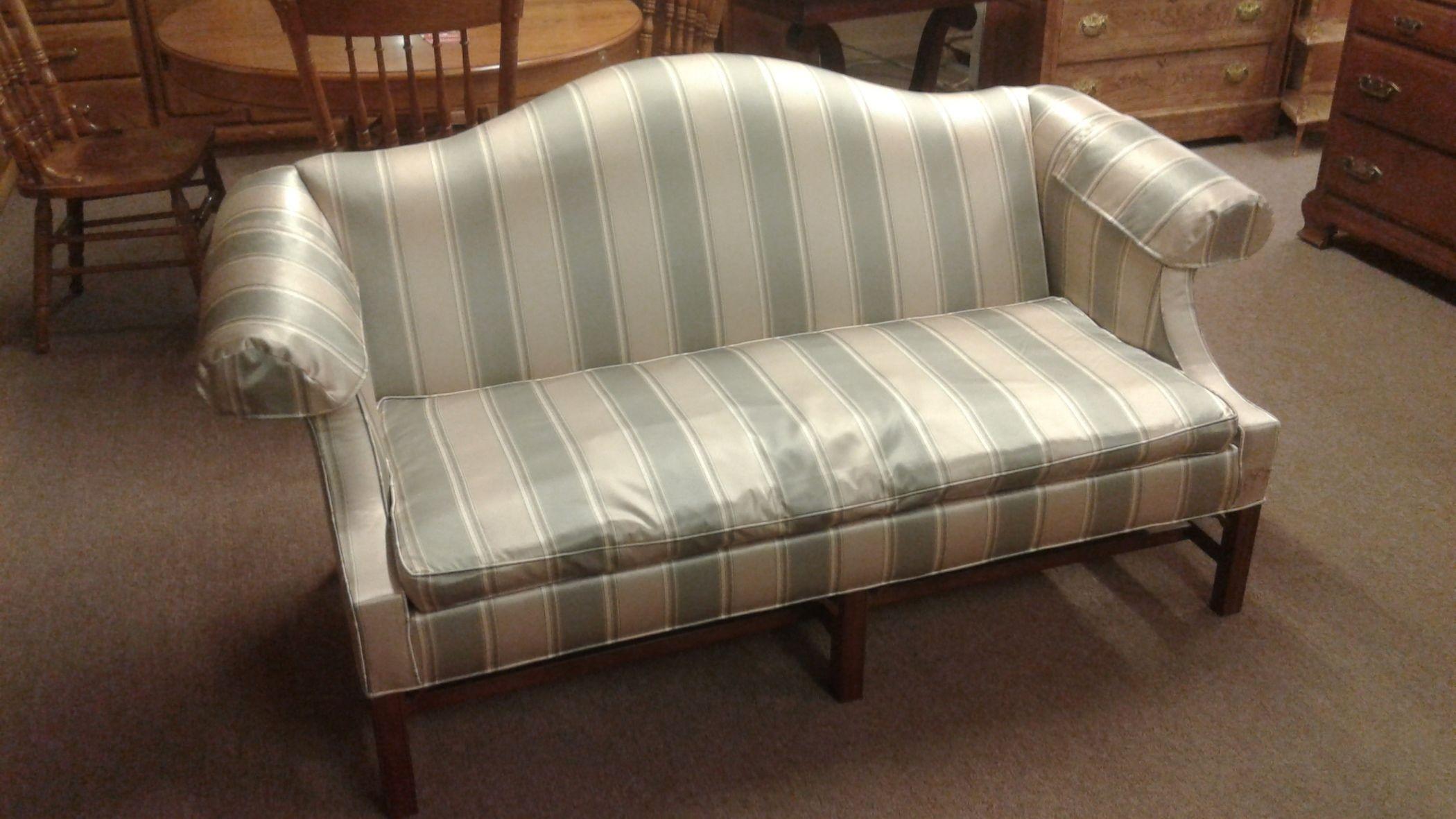 Ethan Allen Camelback Sofa Delmarva Furniture Consignment