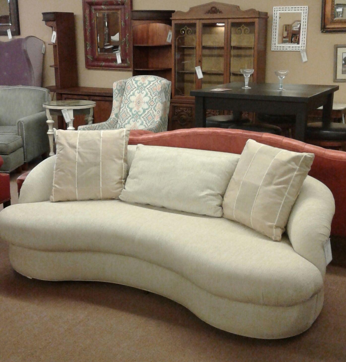 White Drexel Heritage Sofa Delmarva Furniture Consignment