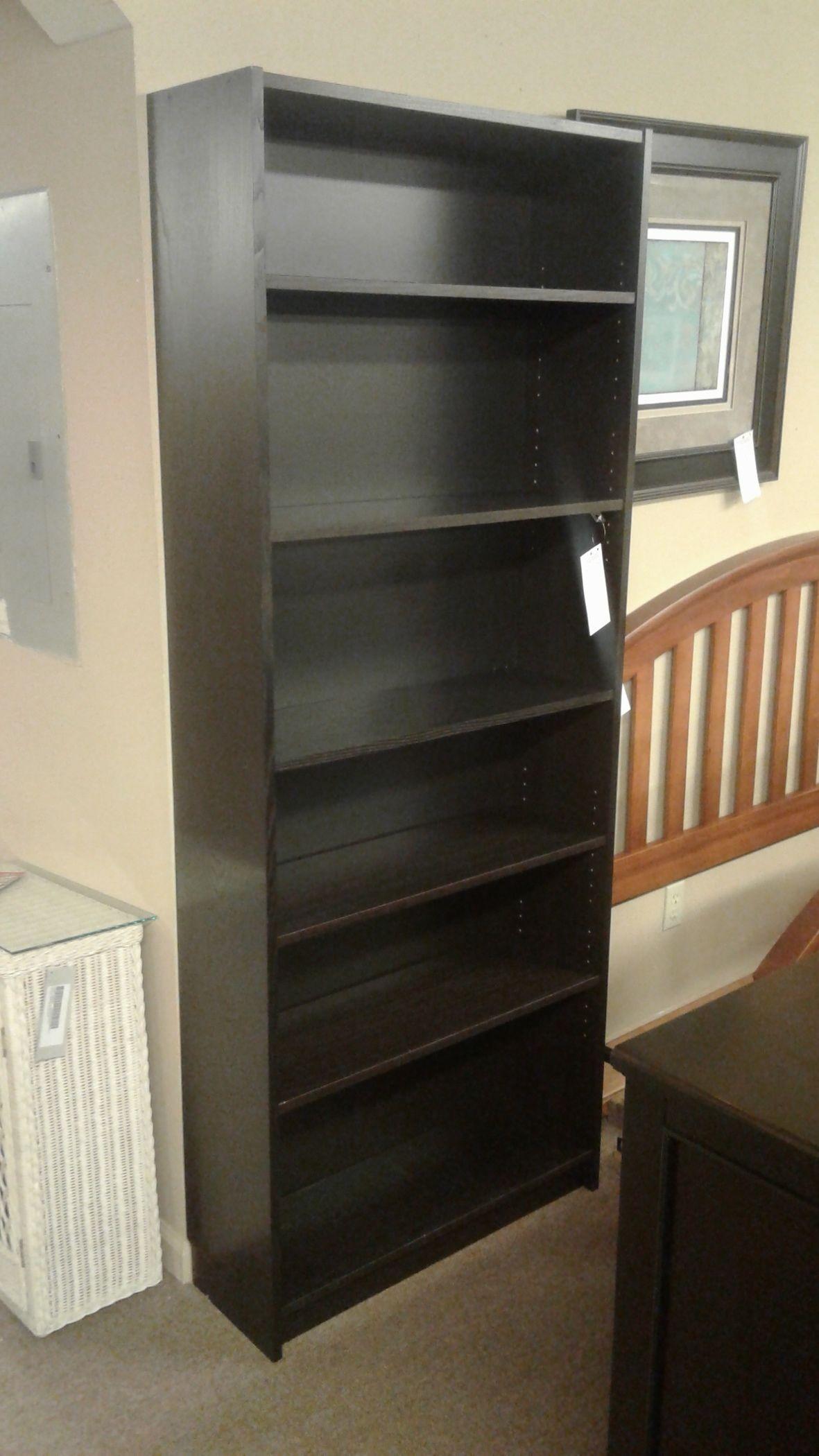 Ikea Black Bookcase Delmarva Furniture Consignment