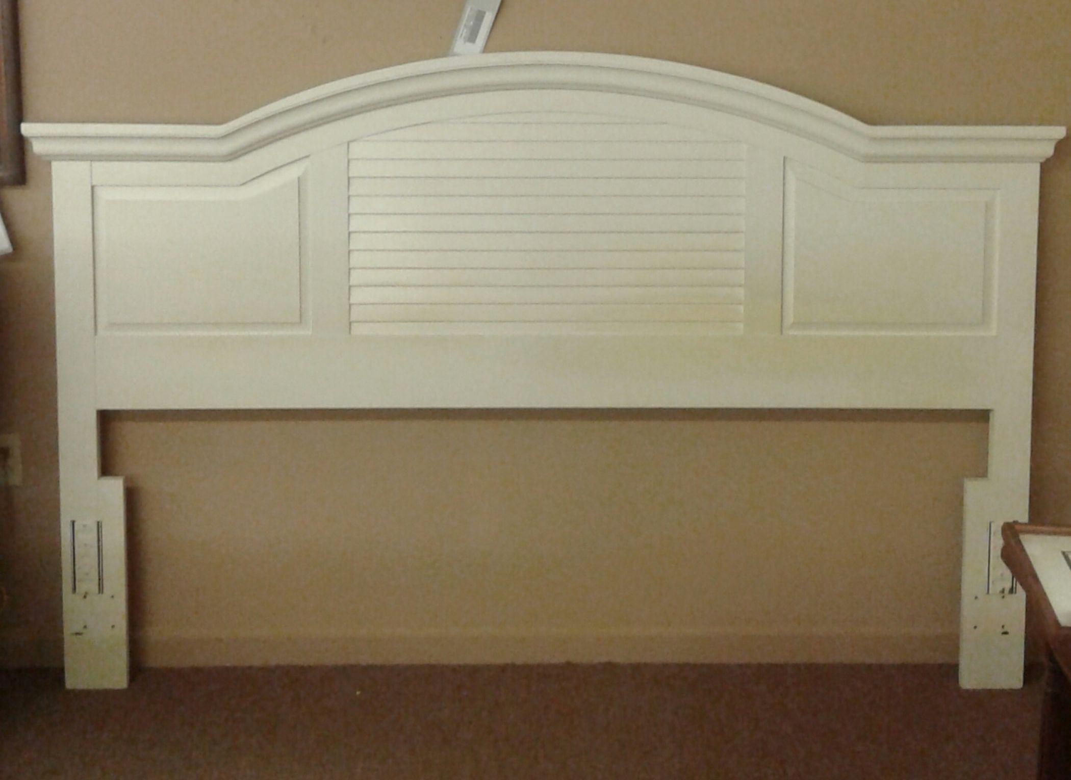 Broyhill King White Headboard Delmarva Furniture Consignment