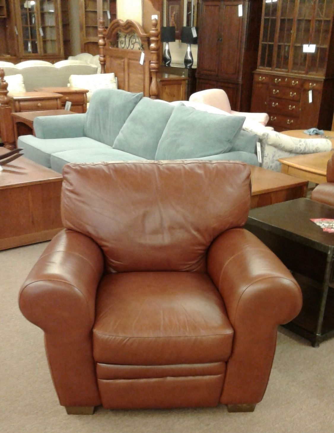 Chateau D 39 Ax Brown Recliner Delmarva Furniture Consignment