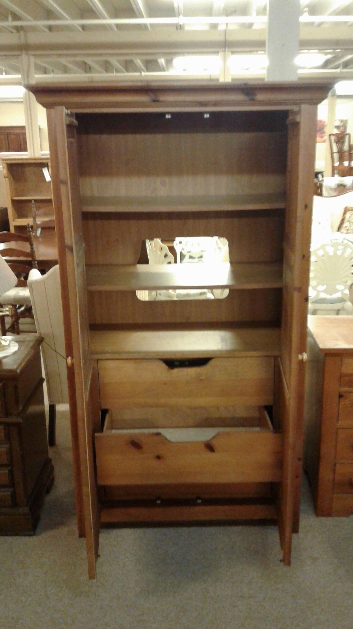 broyhill pine armoire delmarva furniture consignment