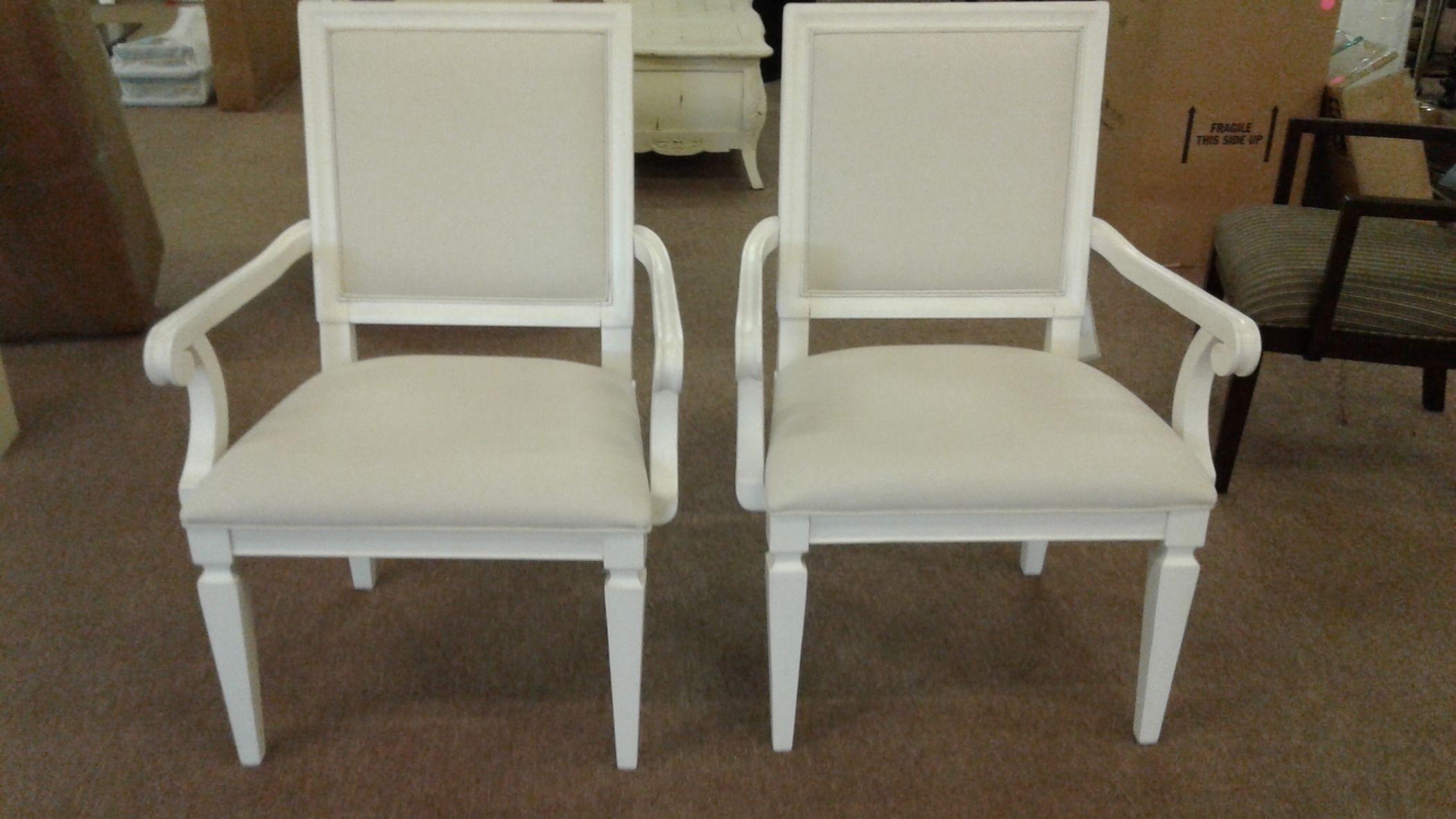 Pr Paula Deen Arm Chairs Delmarva Furniture Consignment