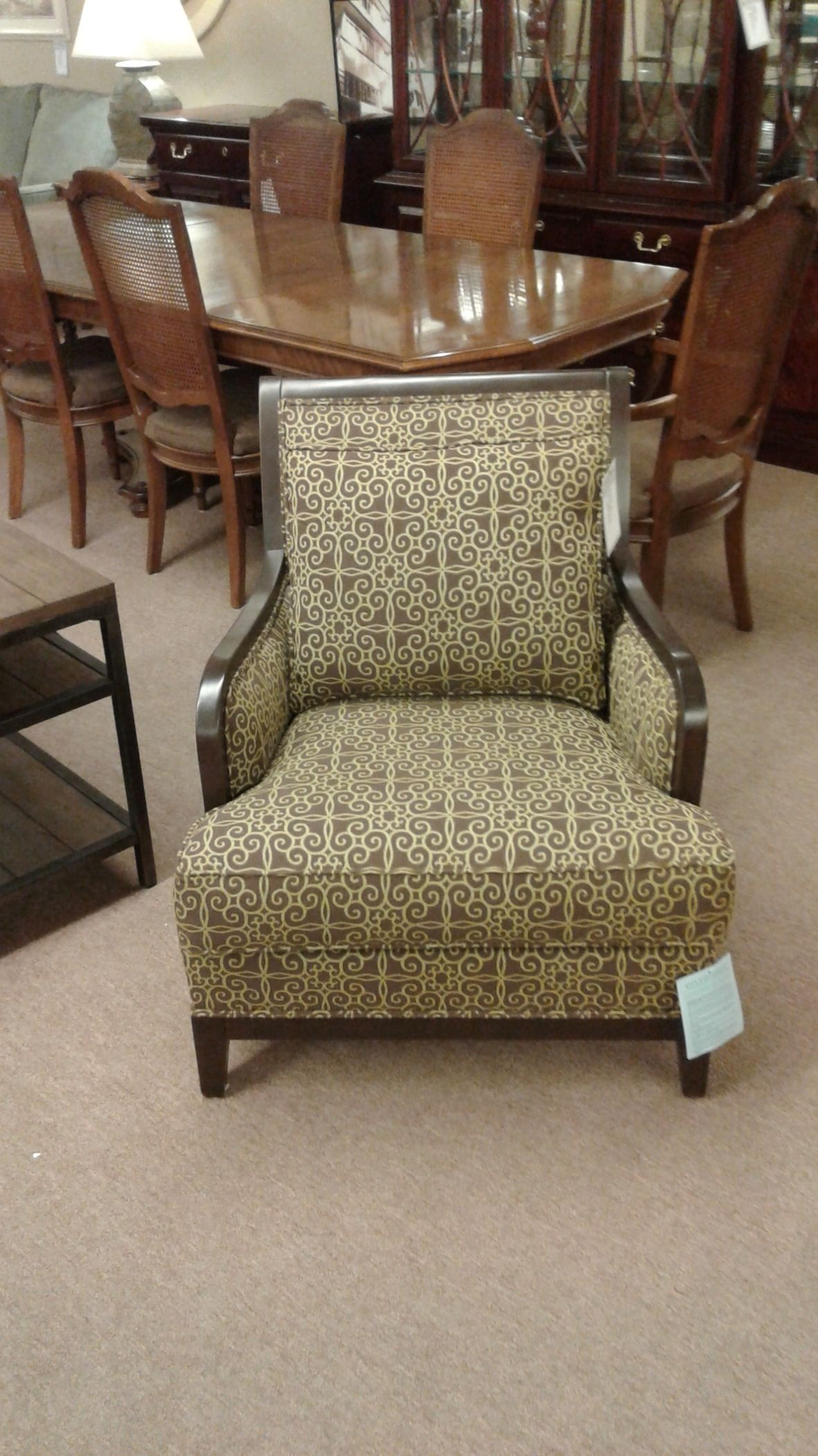 Ethan Allen Accent Chair Delmarva Furniture Consignment