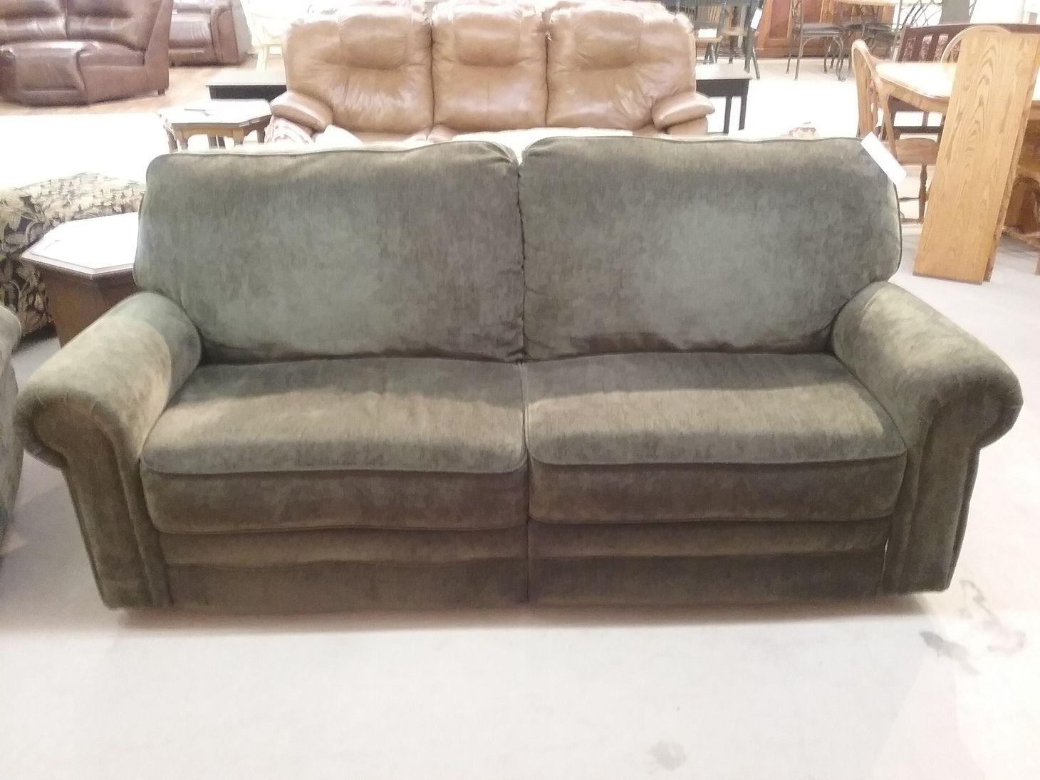 Green Berkline Reclining Sofa Delmarva Furniture Consignment