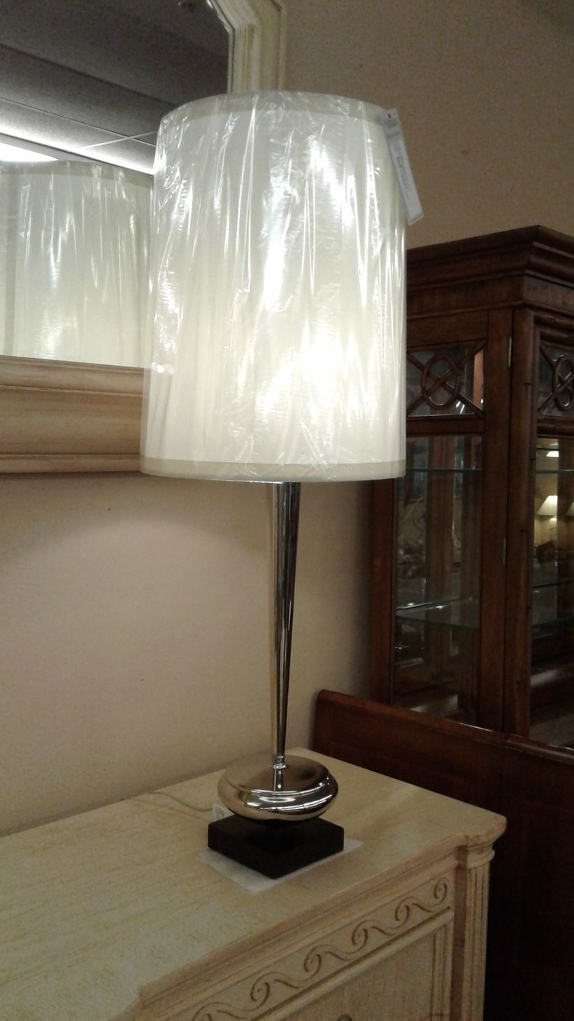 silver global view urn lamp delmarva furniture consignment