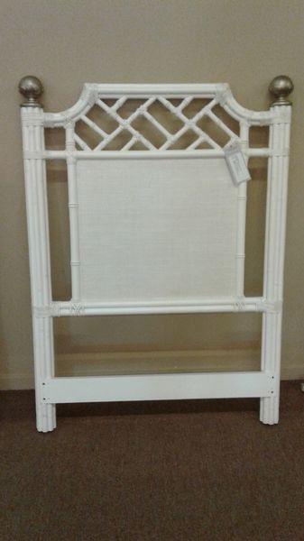 Small whiteheadboard