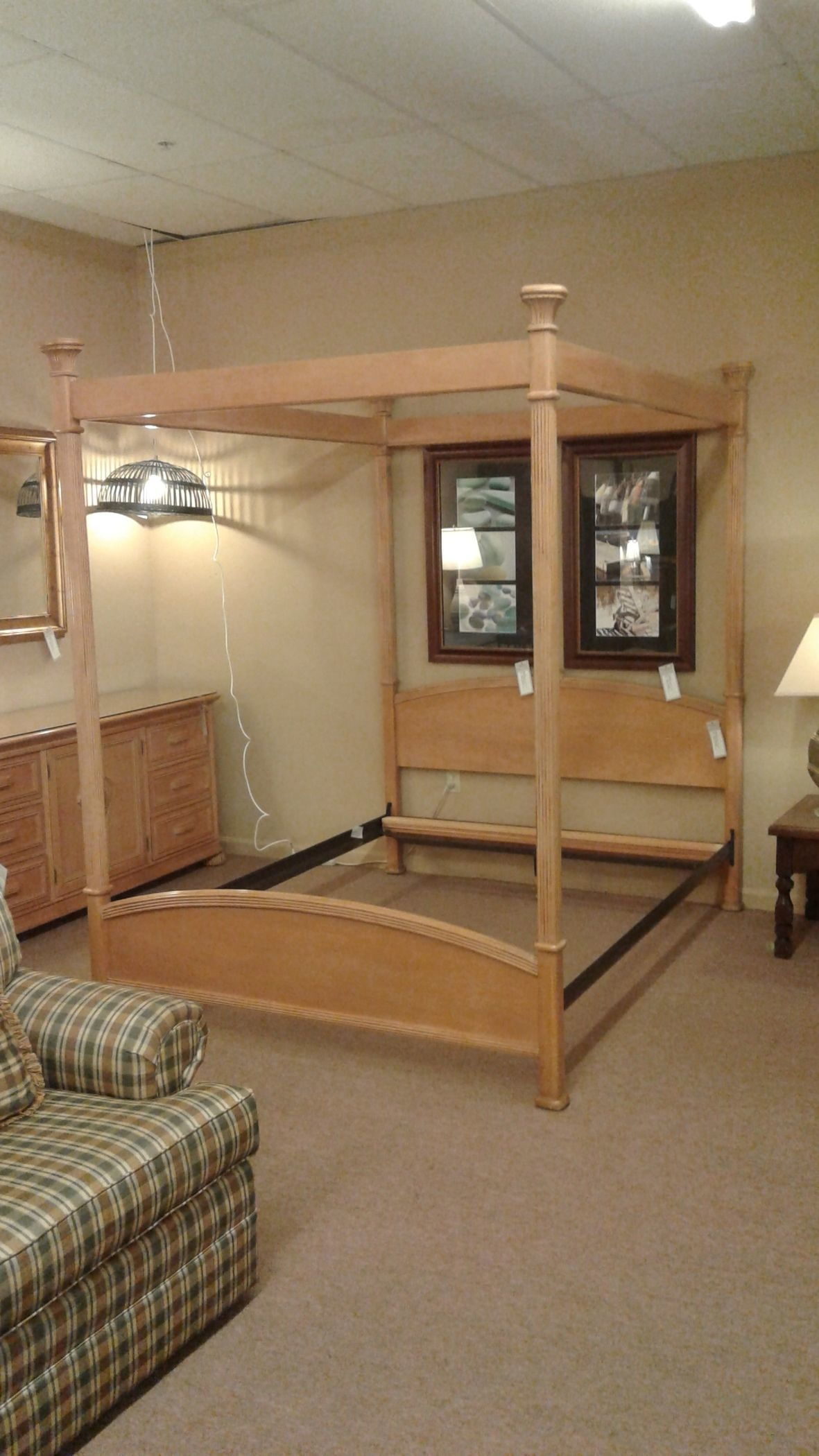 Bernhardt Queen Canopy Bed Delmarva Furniture Consignment