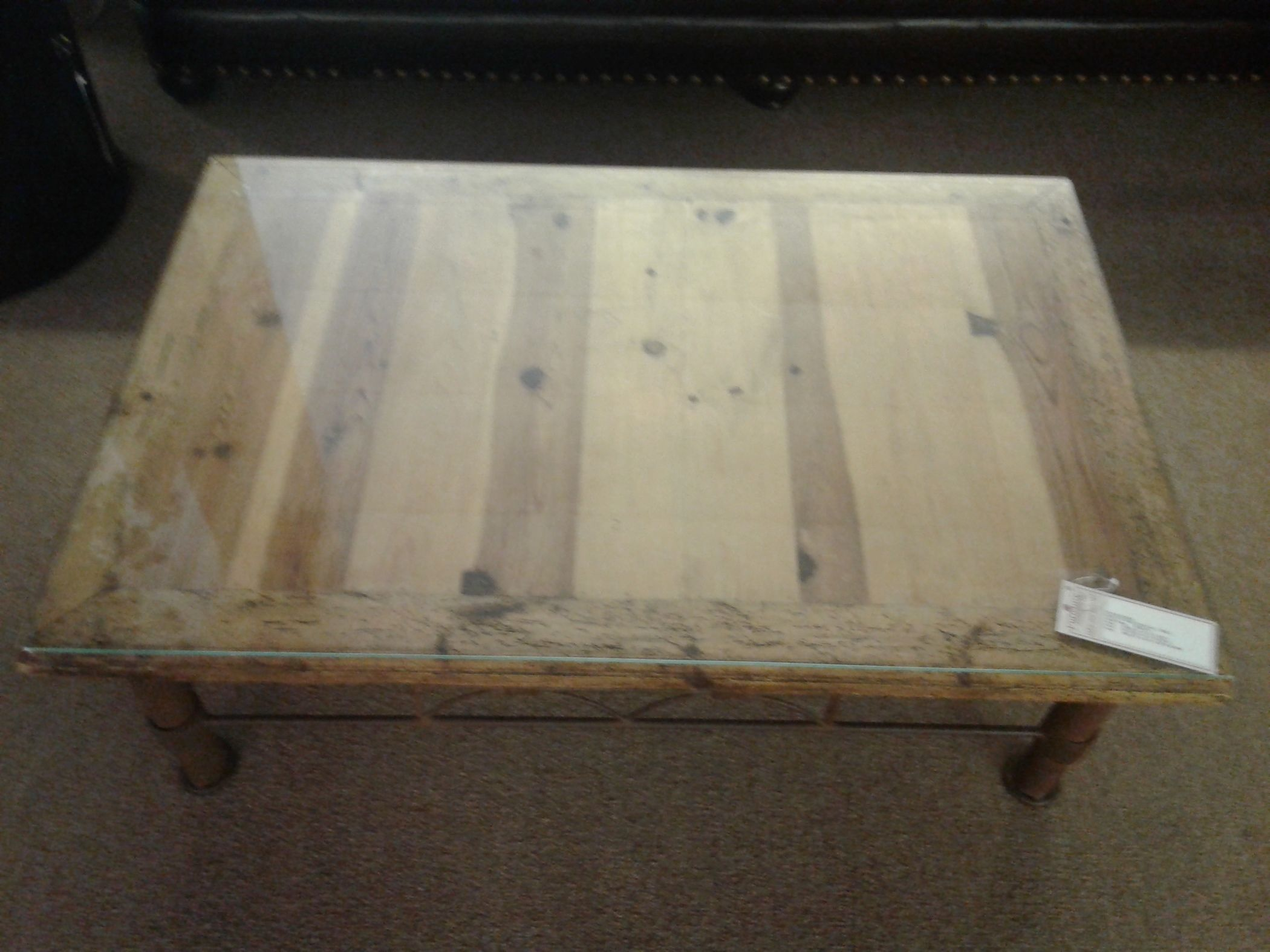 Knotty Pine Cocktail Table Delmarva Furniture Consignment