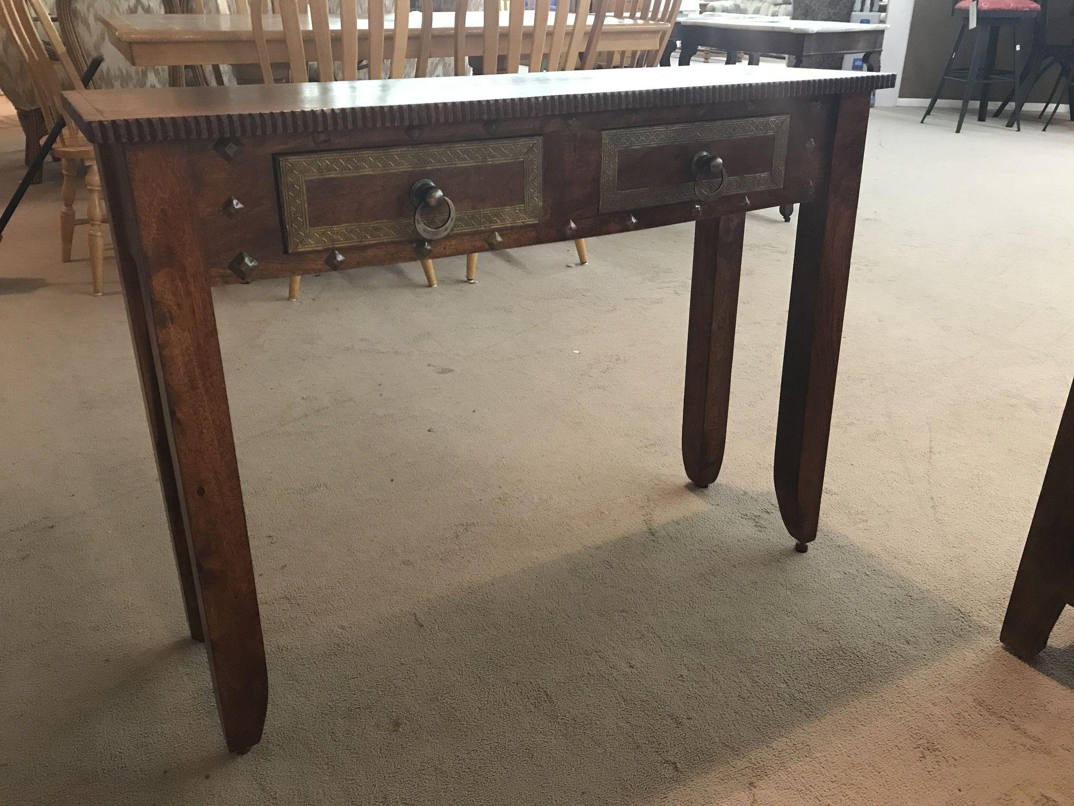 Pier 1 console table delmarva furniture consignment for Sofa table pier one
