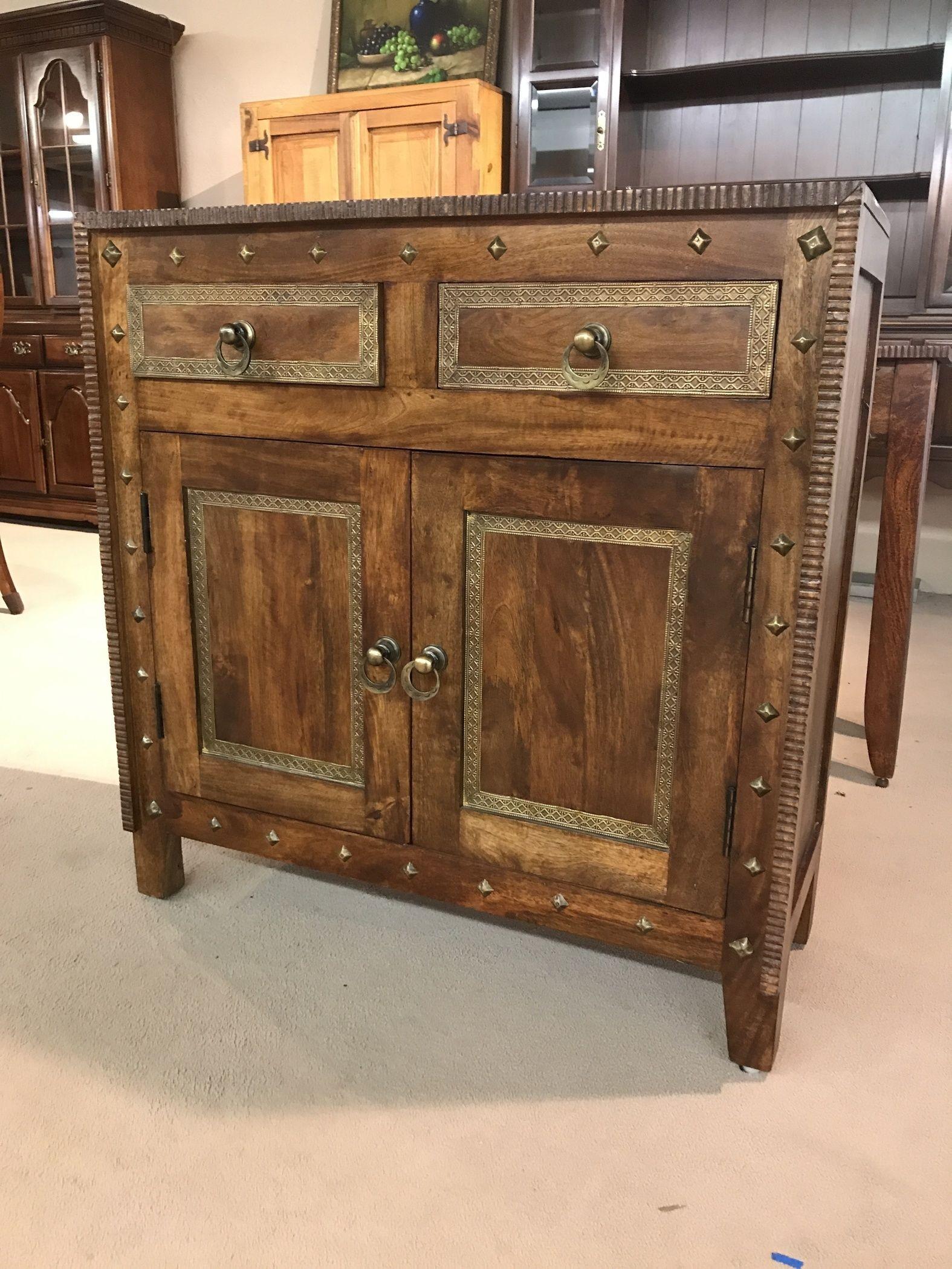 Pier 1 Wood Cabinet Delmarva Furniture Consignment