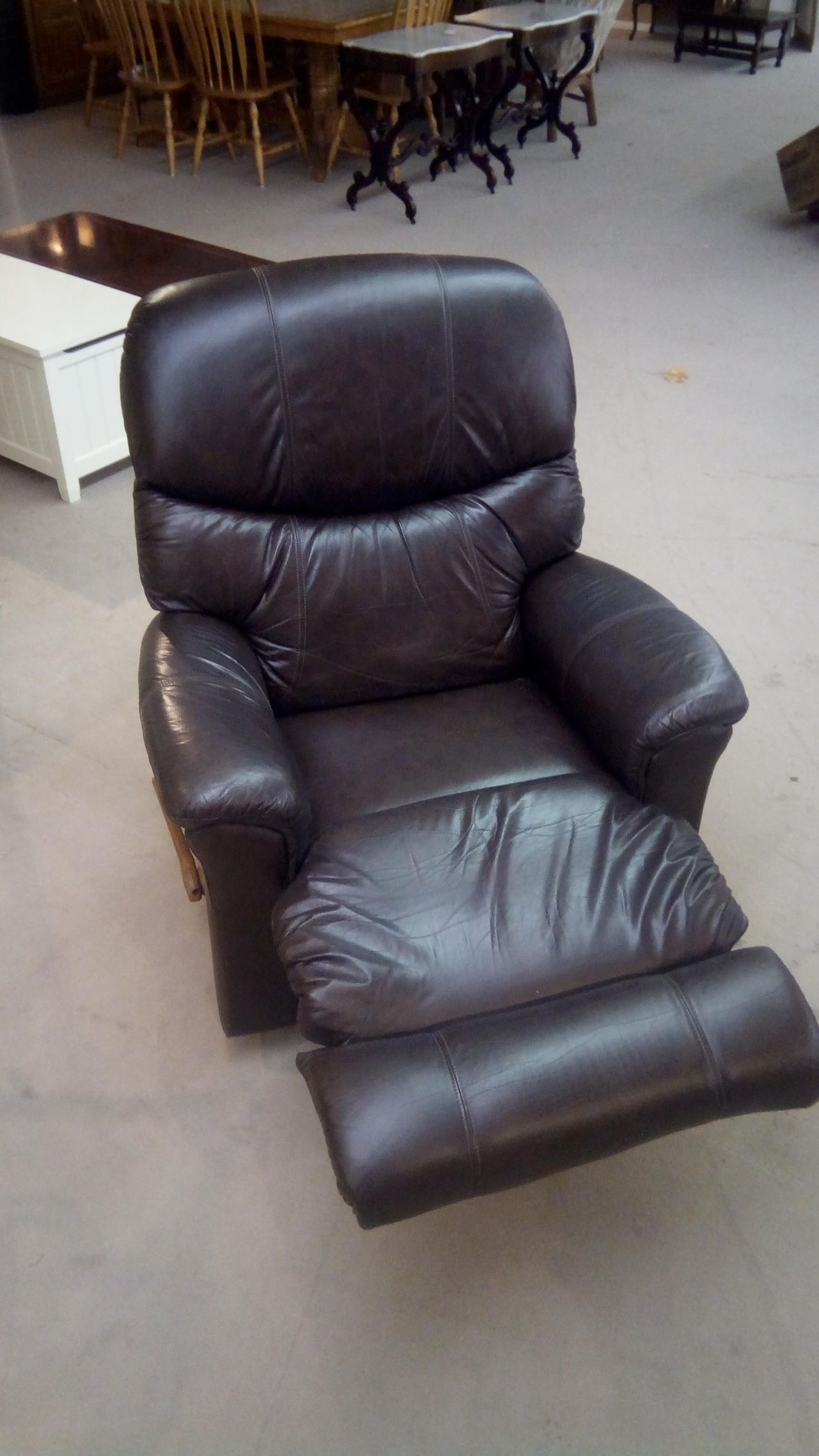 Lazy Boy Leather Recliner Delmarva Furniture Consignment