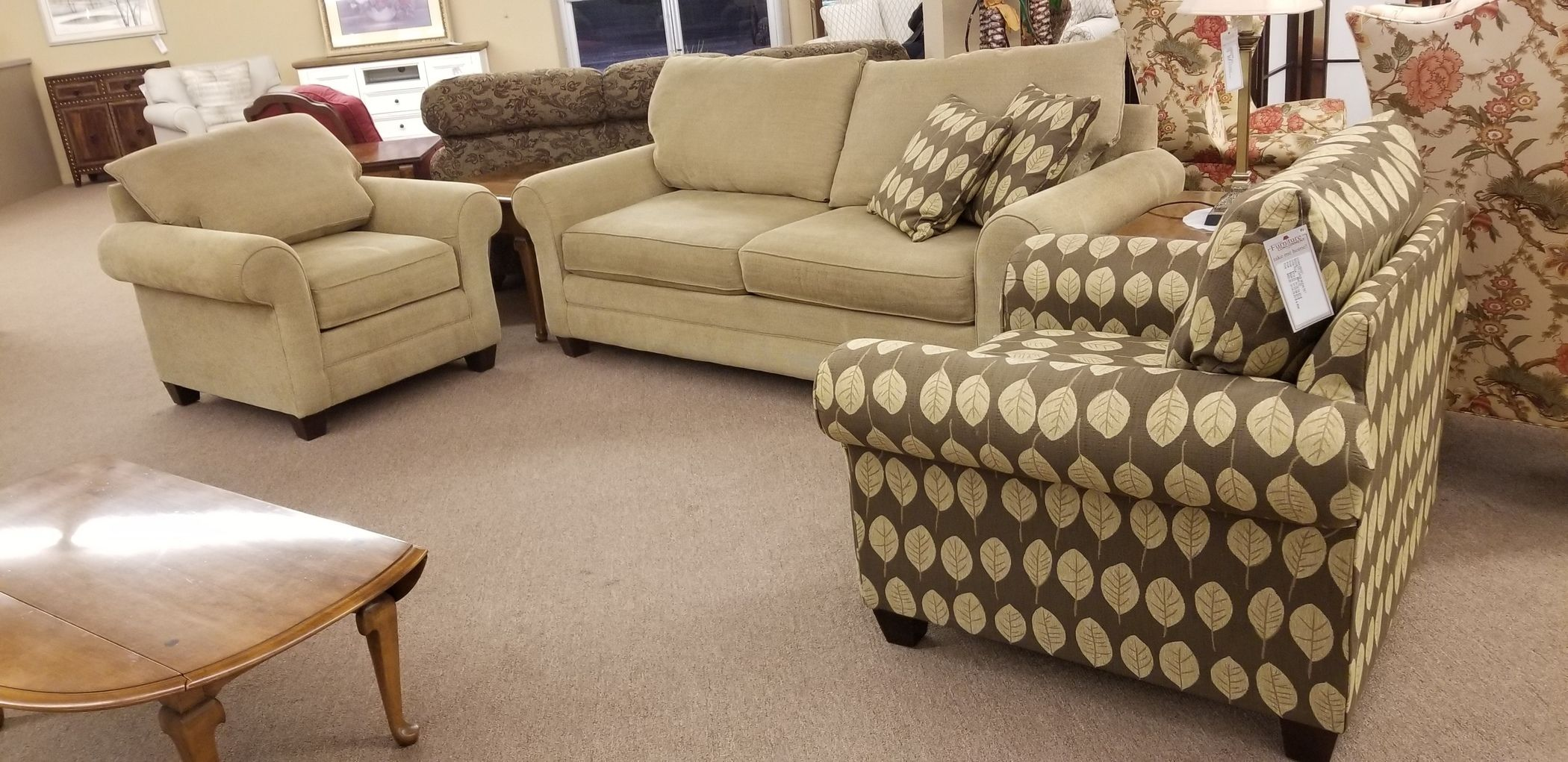 Bassett Living Room Set Delmarva Furniture Consignment