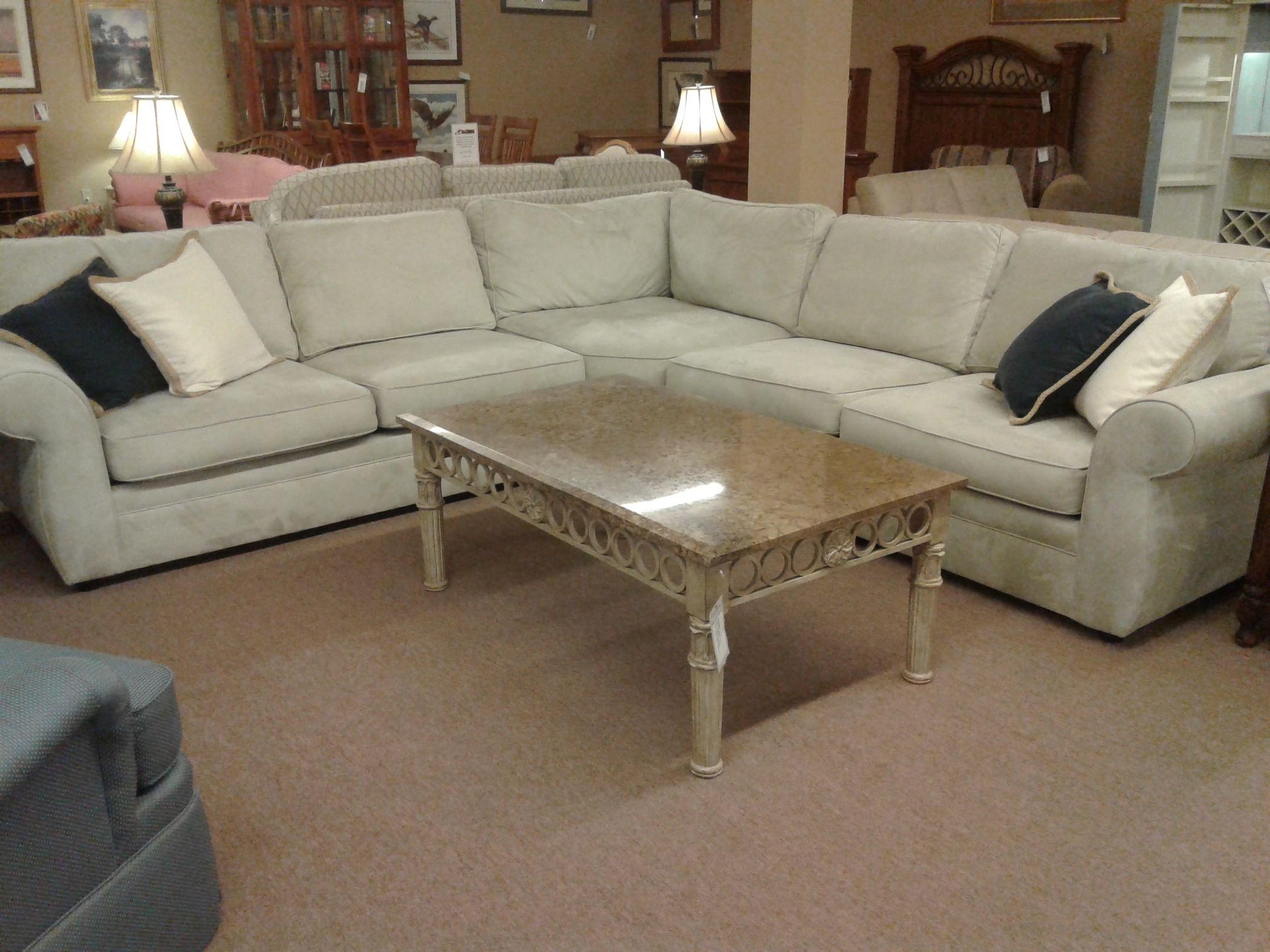 POTTERY BARN SECTIONAL | Delmarva Furniture Consignment