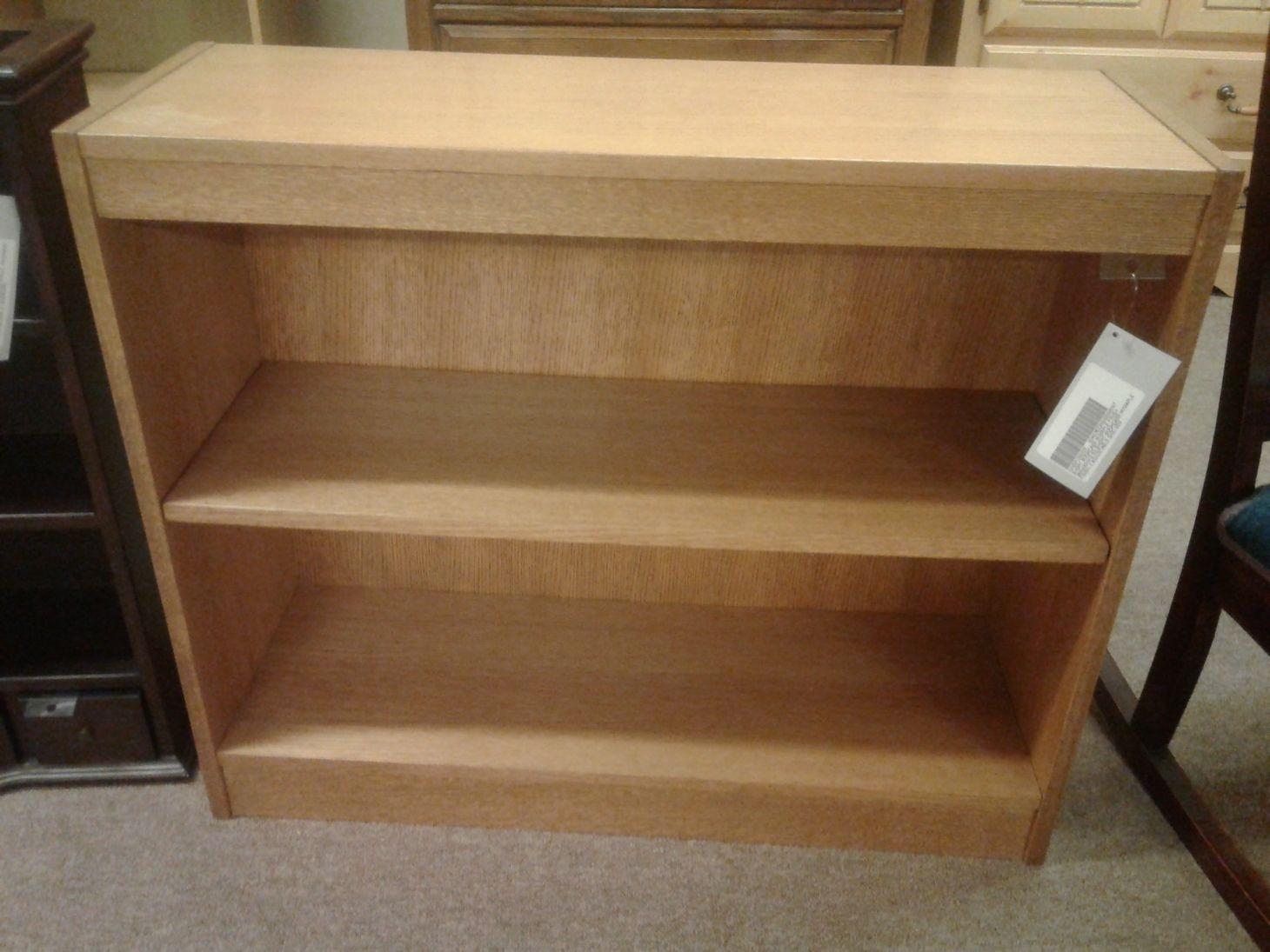 Short Bookcase W Maple Finish Delmarva Furniture Consignment